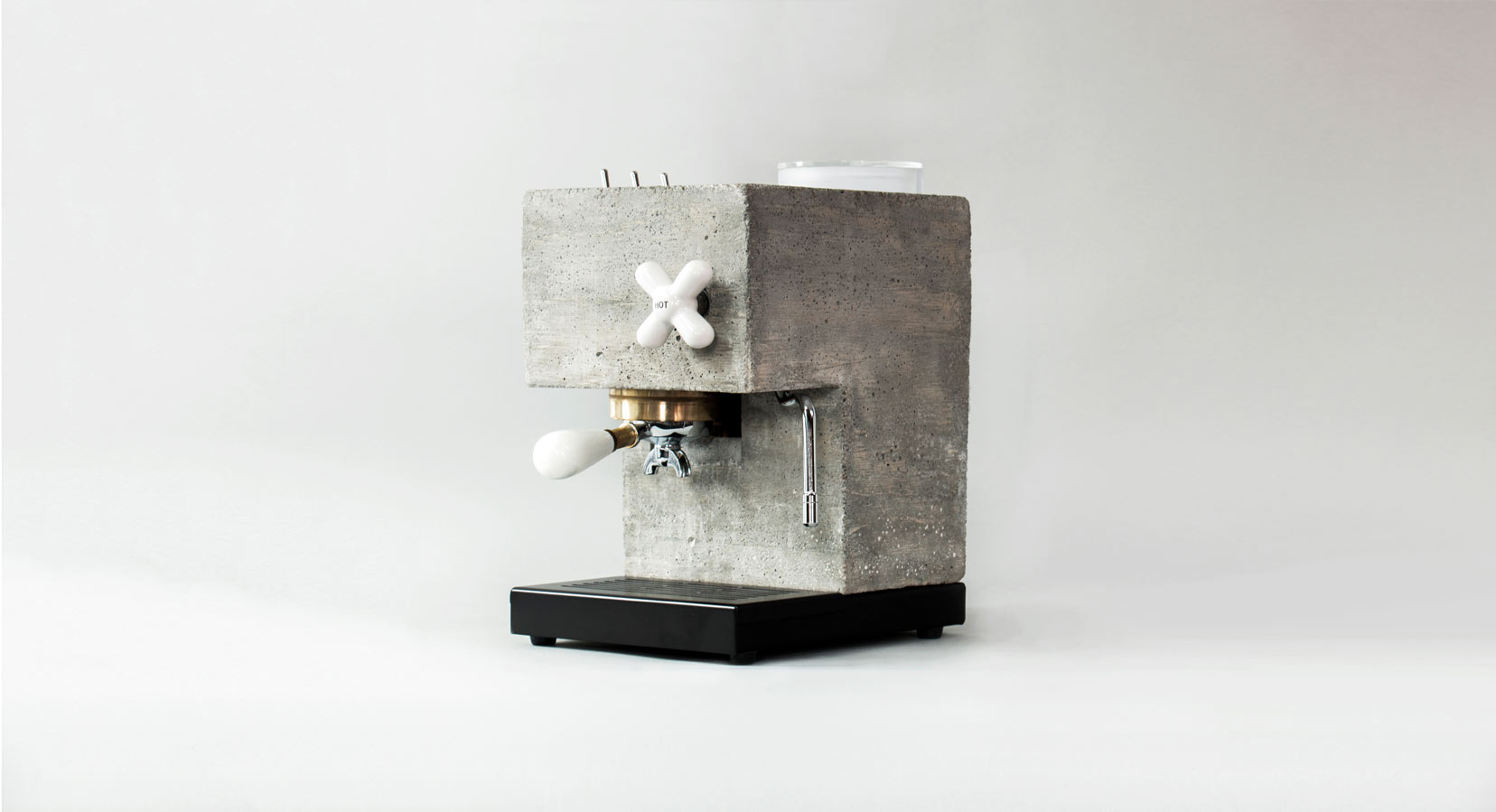 Introducing The Anza Concrete Espresso Machine