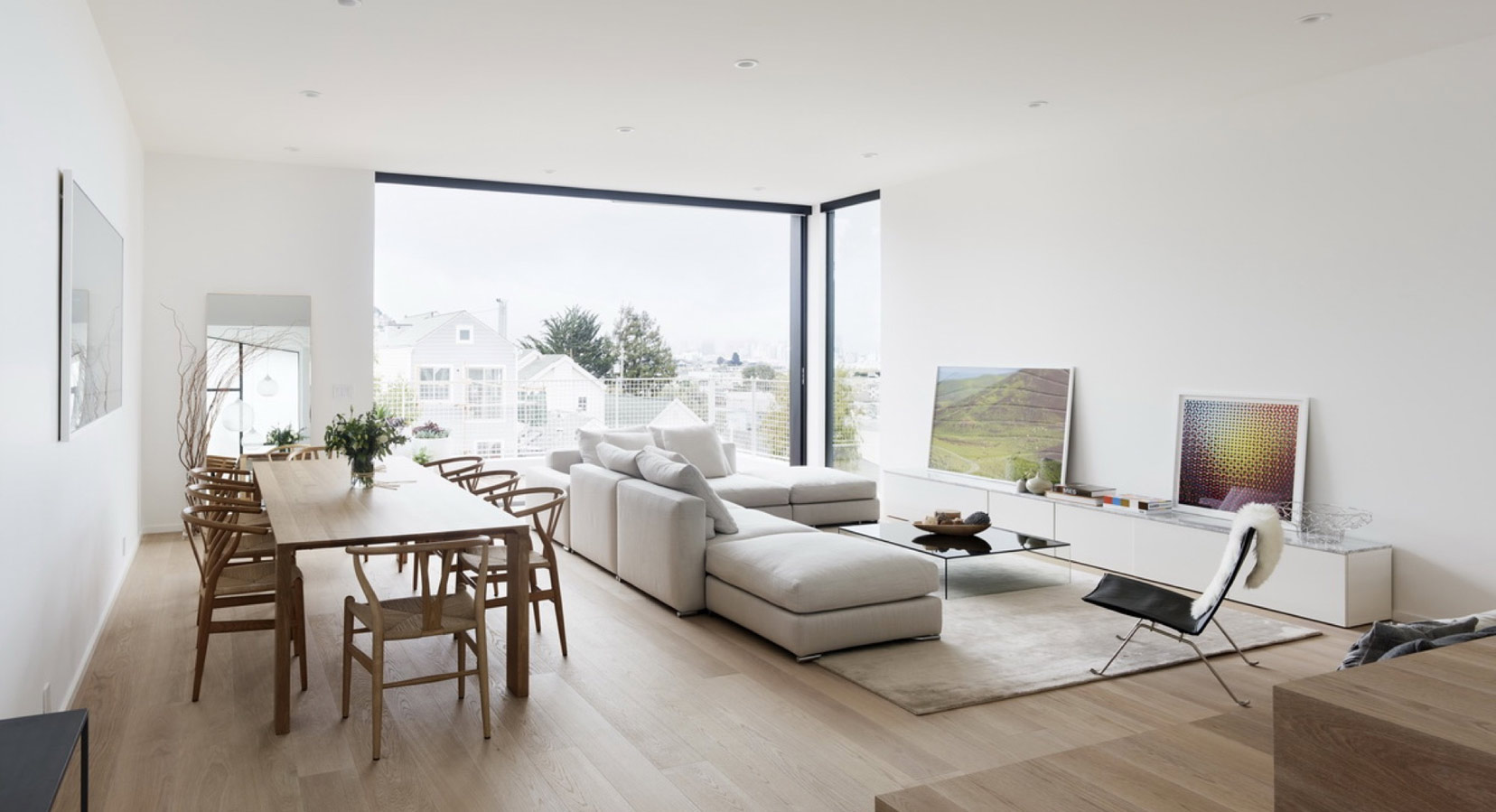 Edmonds + Lee Architects Create A Modern Family Home on a Sloping San Francisco Street