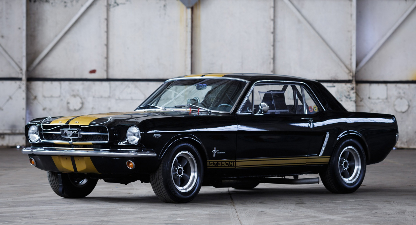 Classic Car Find of the Week: 1965 Ford Mustang HTP Race Car