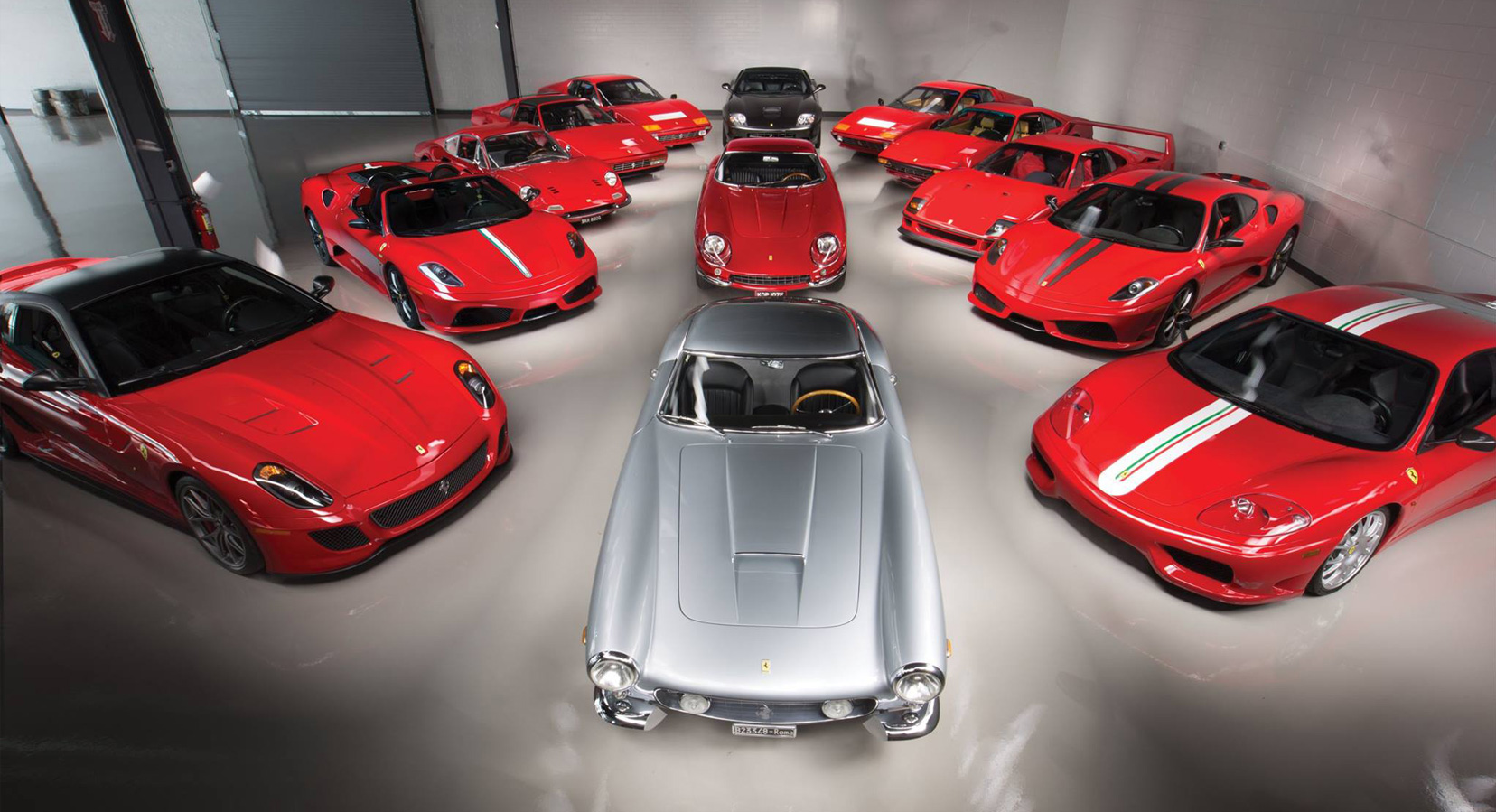 RM Sotheby's is Auctioning Some of the World's Finest Ferraris