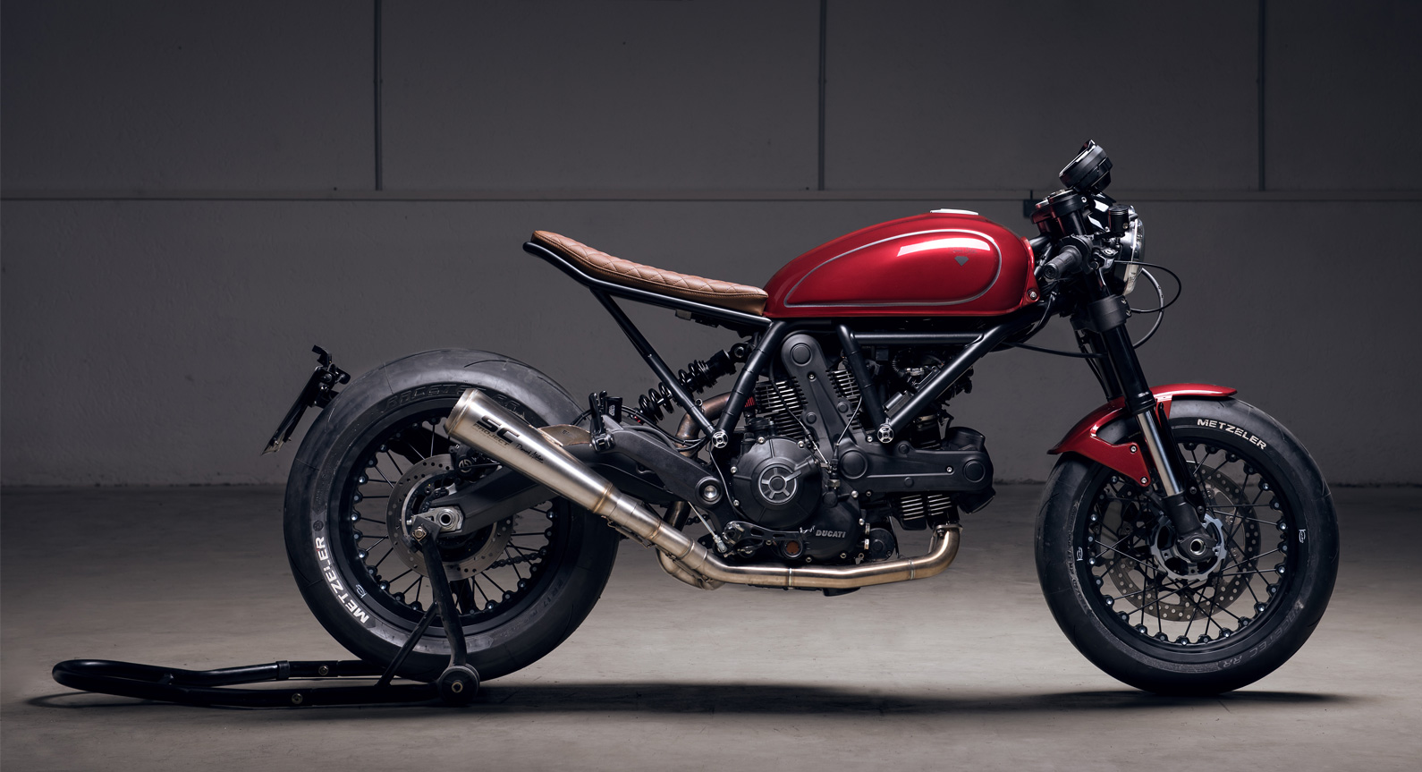 Diamond Atelier Unveils Its Custom Ducati Scrambler 'Sixty2'