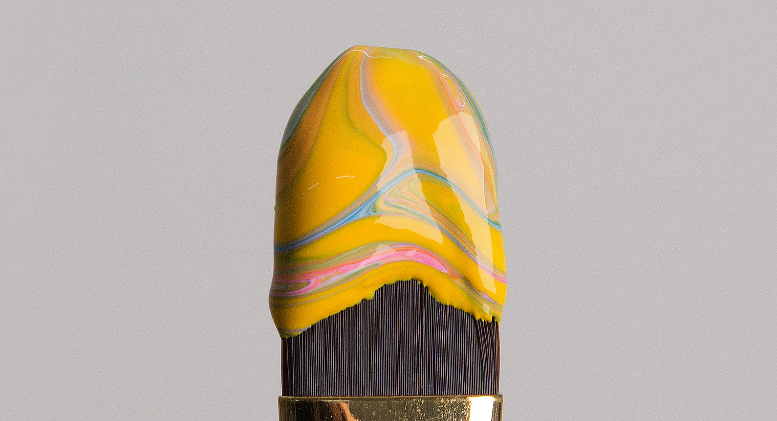 Good Enough To Eat: Swirling 'Ice Cream' Paint Brushes By José Lourenço