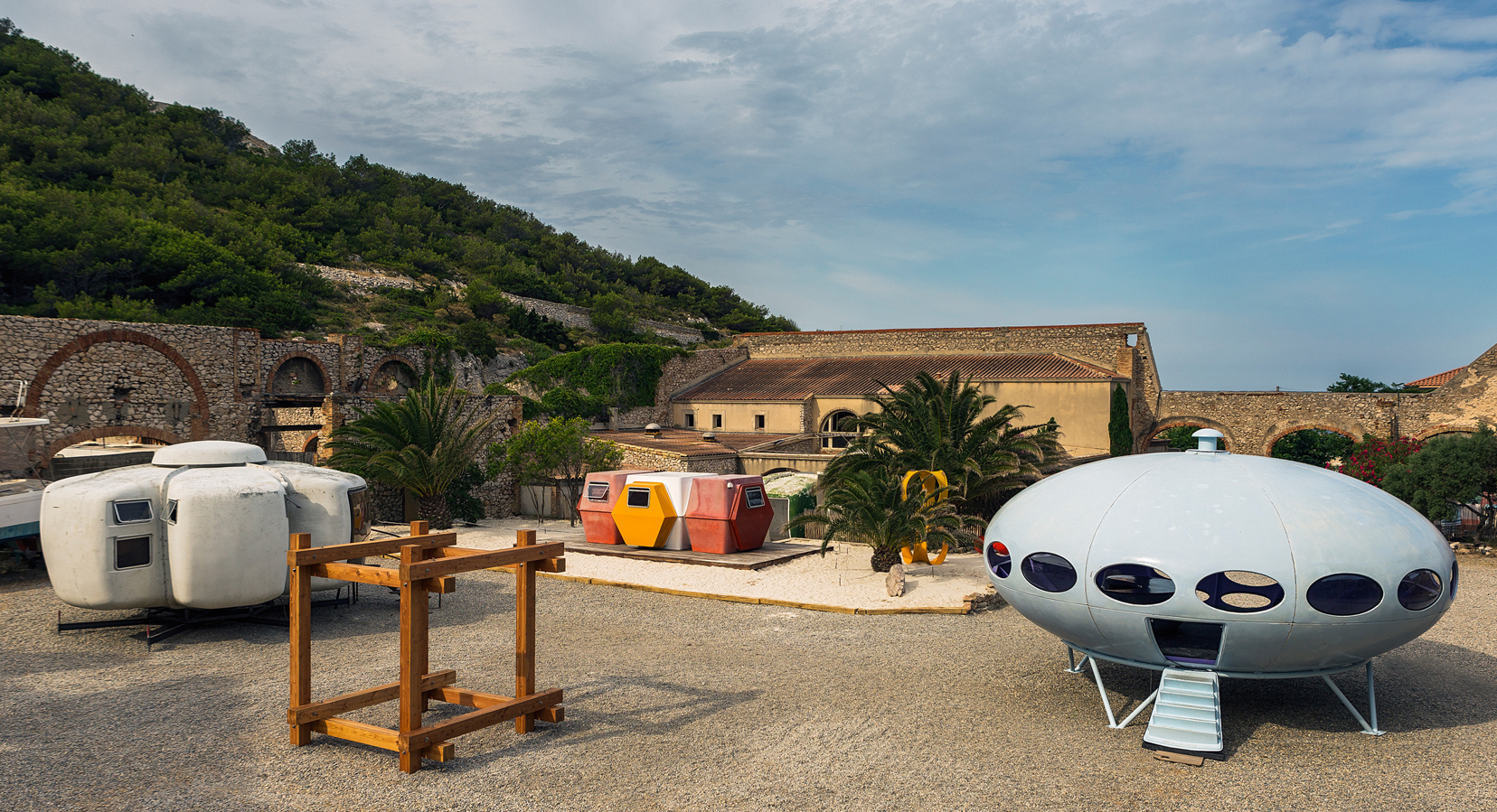 Out Of This World: Futuristic Micro-Homes Land in Marseille For 'Utopie Plastic' Exhibition
