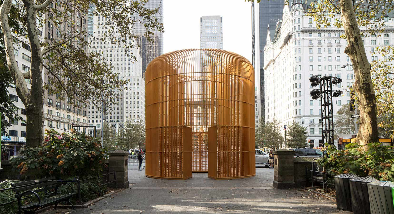 Ai Weiwei Launches 'Good Fences Make Good Neighbours' in New York City