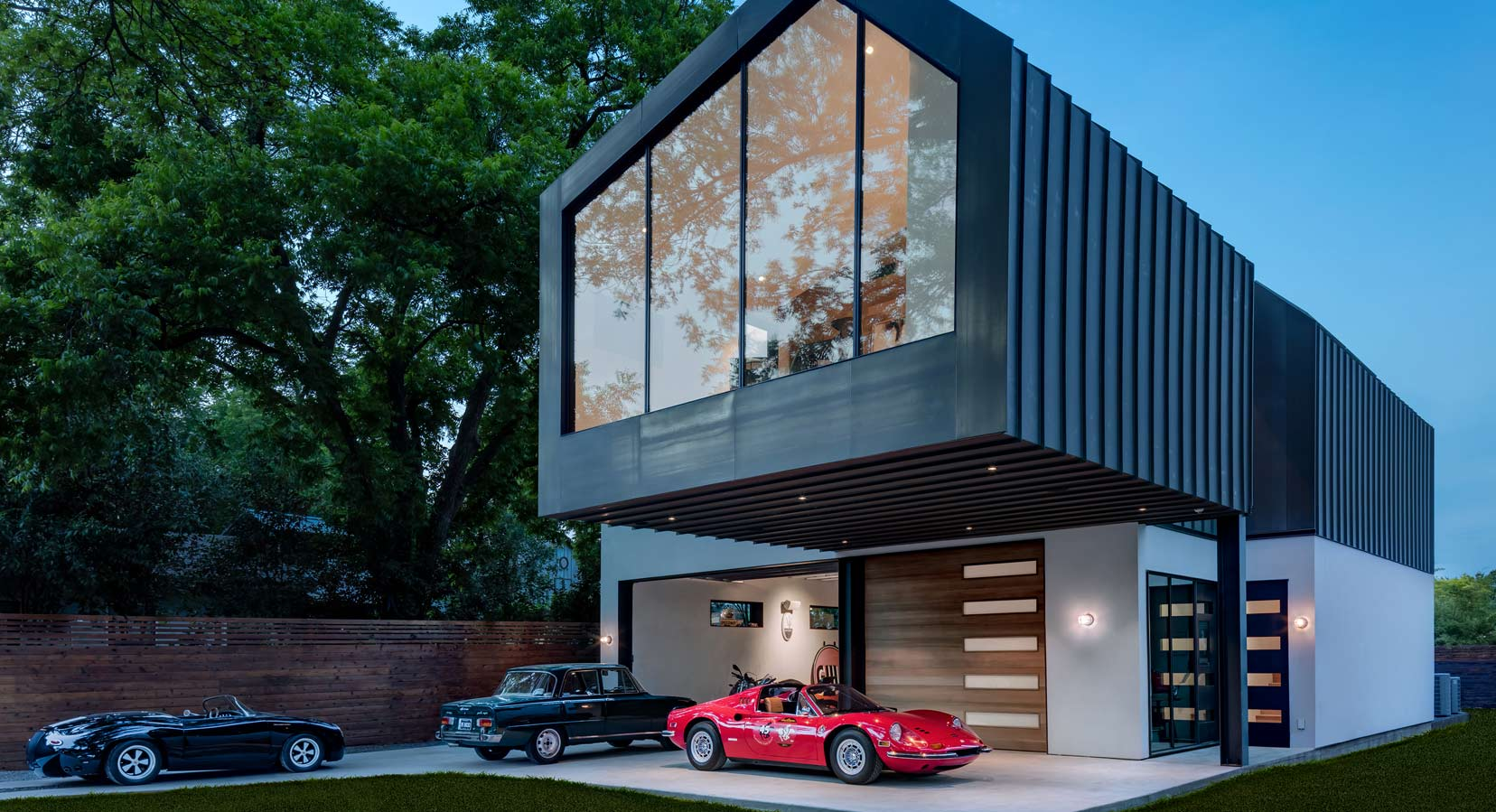 Matt Fajkus Architecture's 'AUTOHAUS' Is A Car Collector's Dream