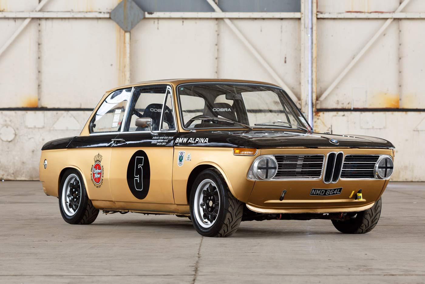 Classic Car Find of the Week: 1972 BMW 2002 Race Car - OPUMO Magazine