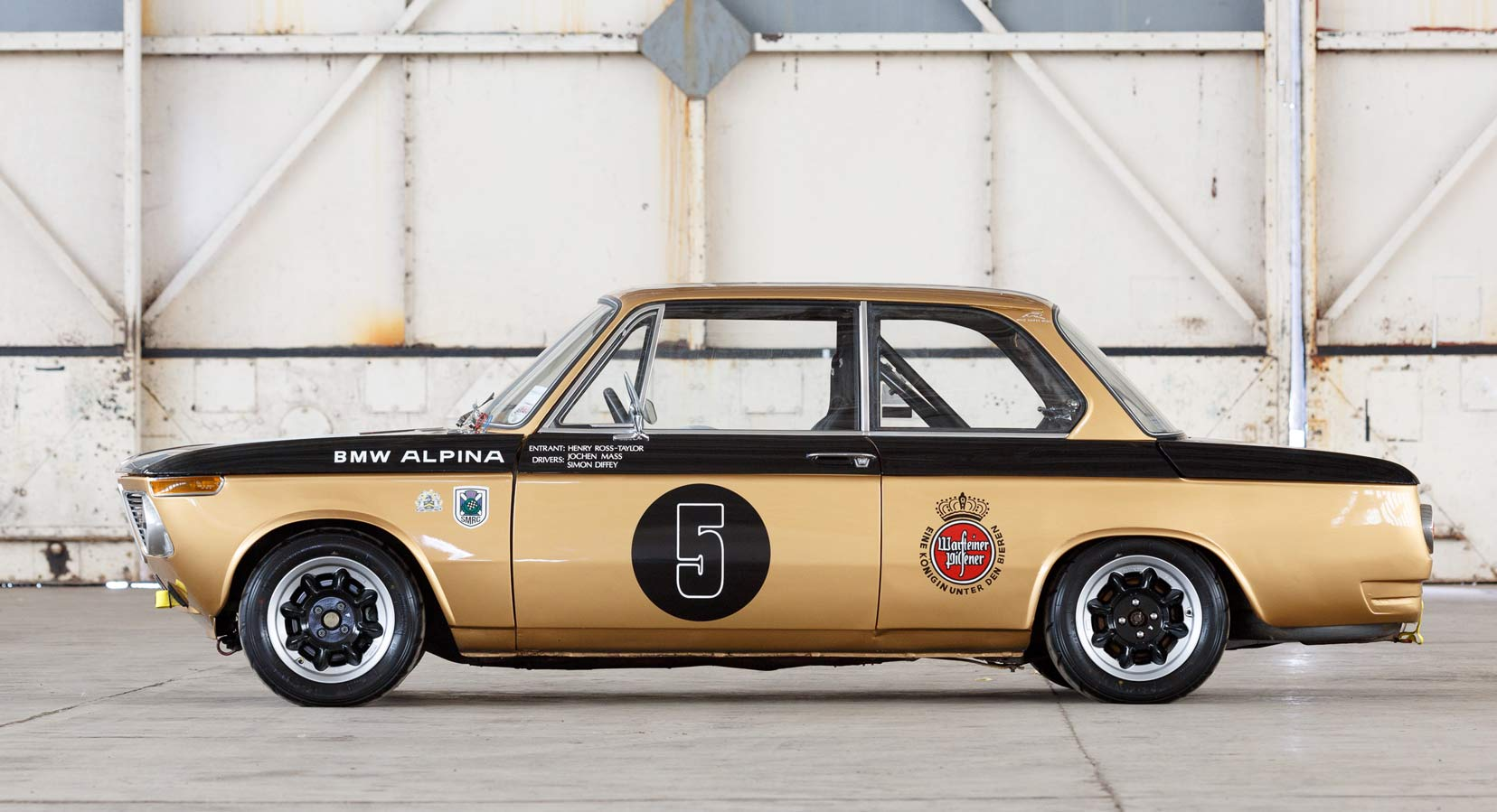 Classic Car Find of the Week: 1972 BMW 2002 Race Car