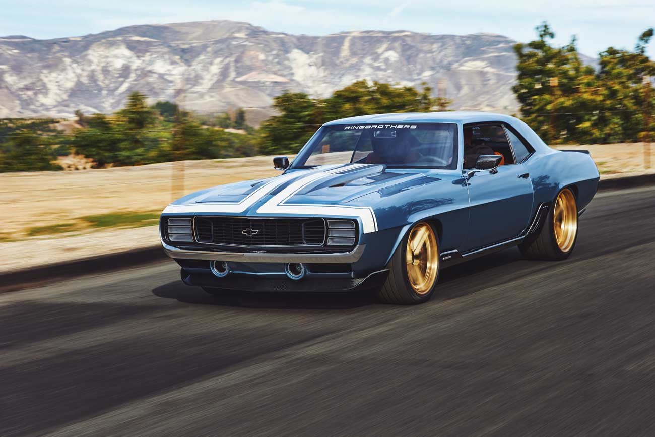 Introducing The 1969 Chevrolet Camaro G-Code Custom Muscle Car by ...
