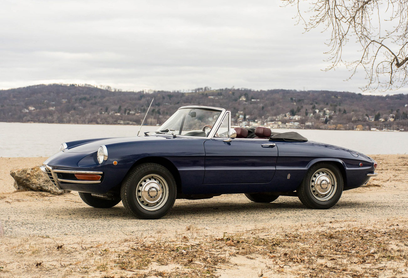 car find of the week: 1969 alfa romeo spider veloce - opumo