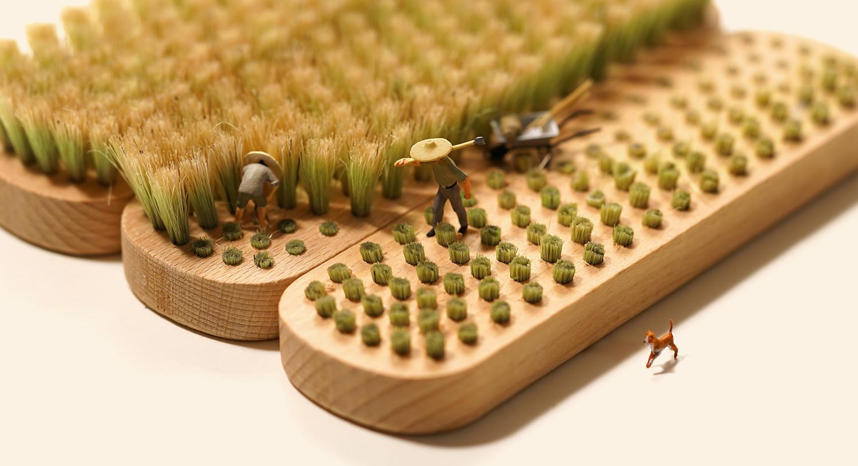 Miniature Calendar.Tatsuya Tanaka Continues His Miniature Calendar Project Into 2019