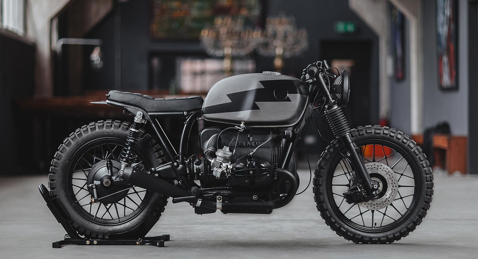 This Hookie Co. BMW R100 Conversion Is Ready To Tear Up The Alpine Trails