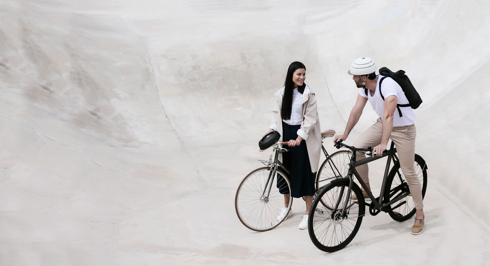 The Future Of Cycling: Introducing The Closca Folding Bike Helmet