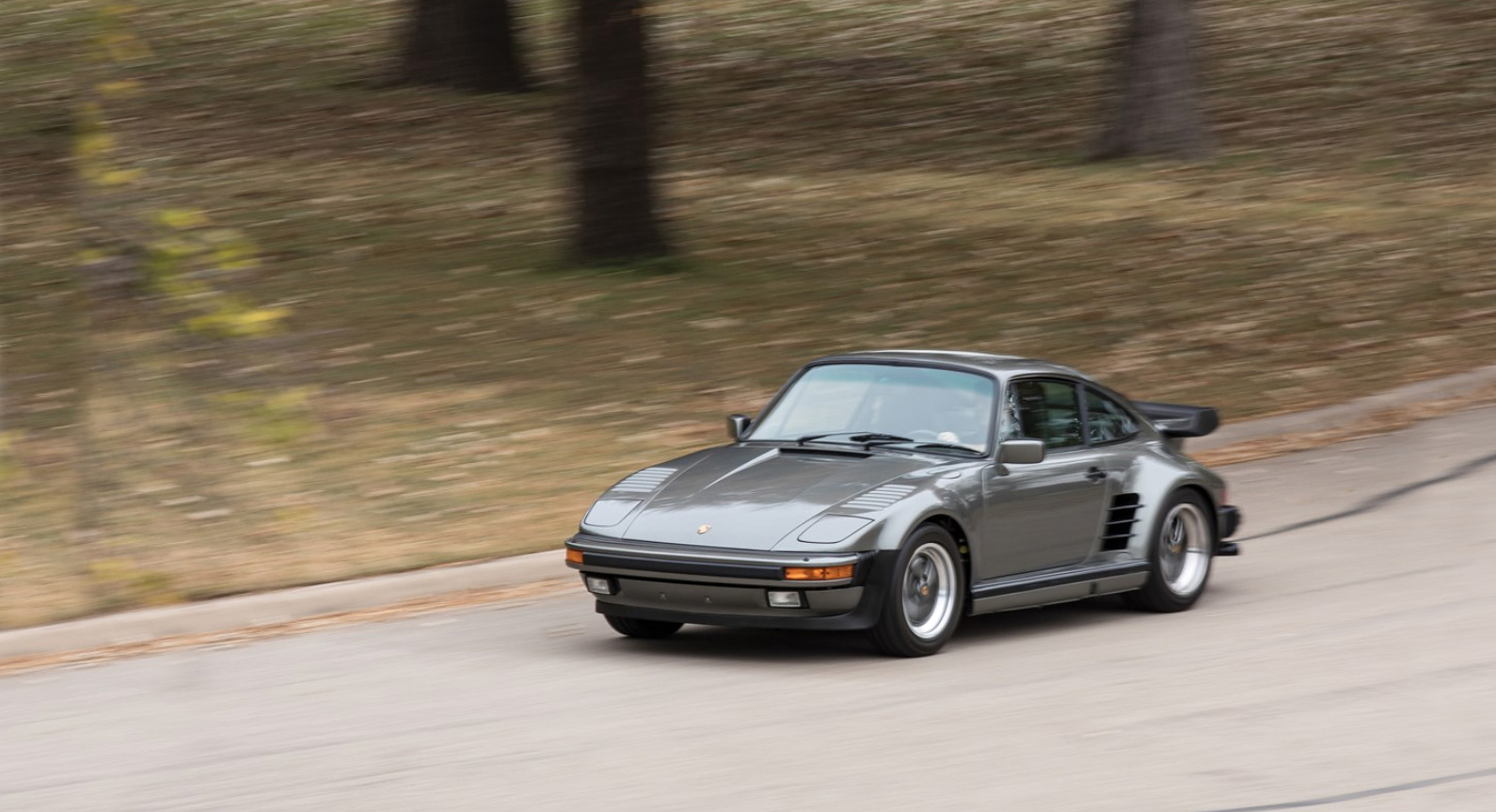 This Rare 1988 Porsche 'Flat Nose' Turbo Could Sell For Over $200,000