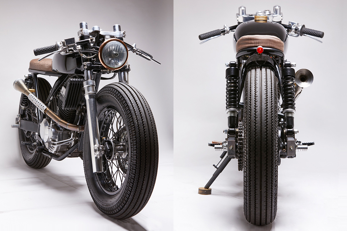Introducing The Honda Tornado Café Racer By Vida Bandida Motorcycles ...