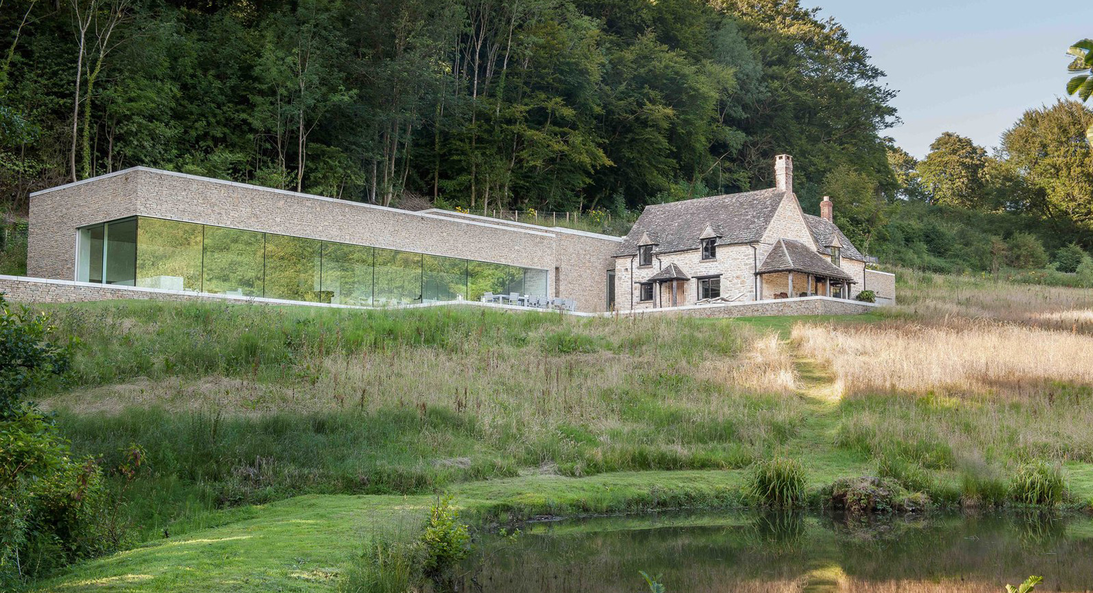 Found Associates Carves A Spectacular New Home Into The Cotswold Landscape