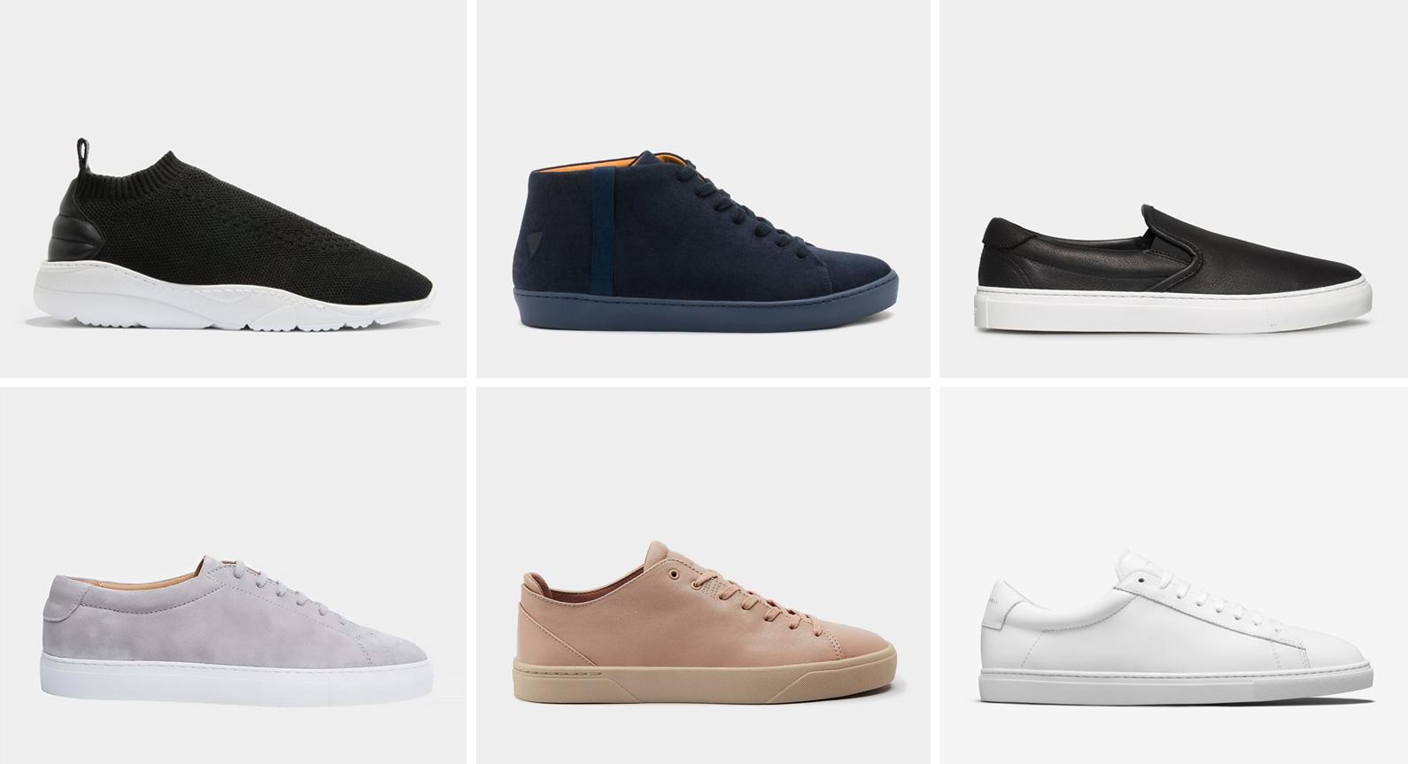 6 Minimalist Sneakers To Maximise Your Wardrobe