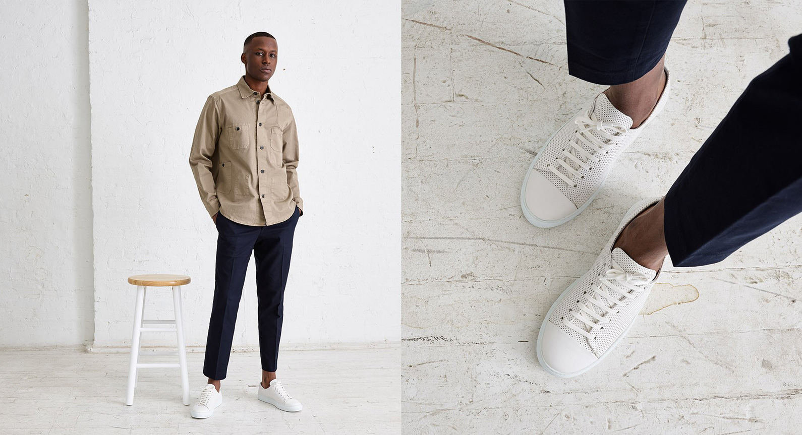 Oliver Cabell Adds The 'Erving' To Its Growing Selection Of Premium Sneakers