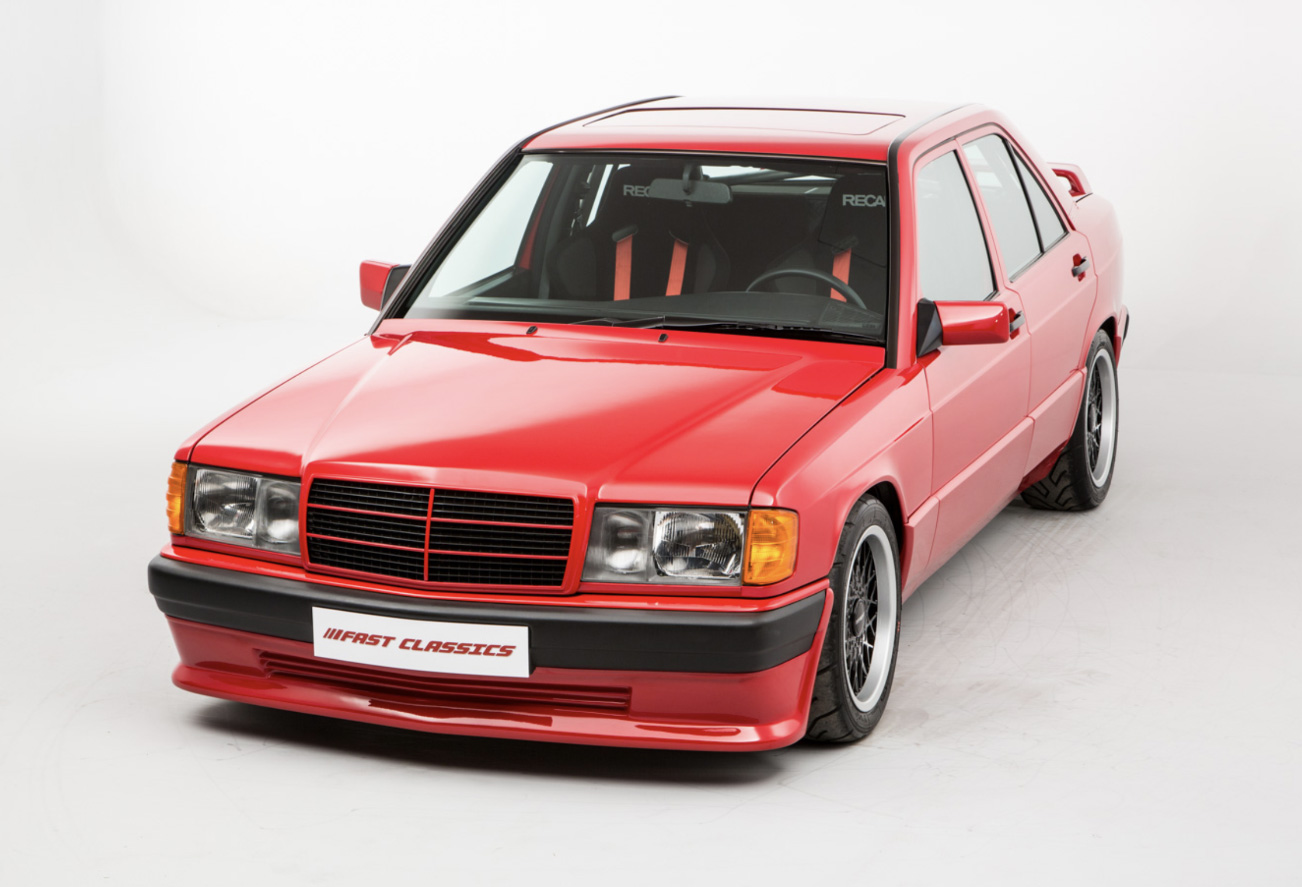 This Brabus 3 6s Lightweight Is The Ultimate Mercedes 190 Opumo