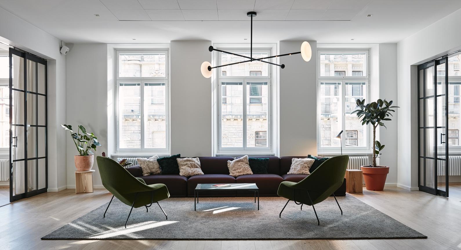 Joanna Laajisto Creates Elegant & Unconventional Workspace For Fjord