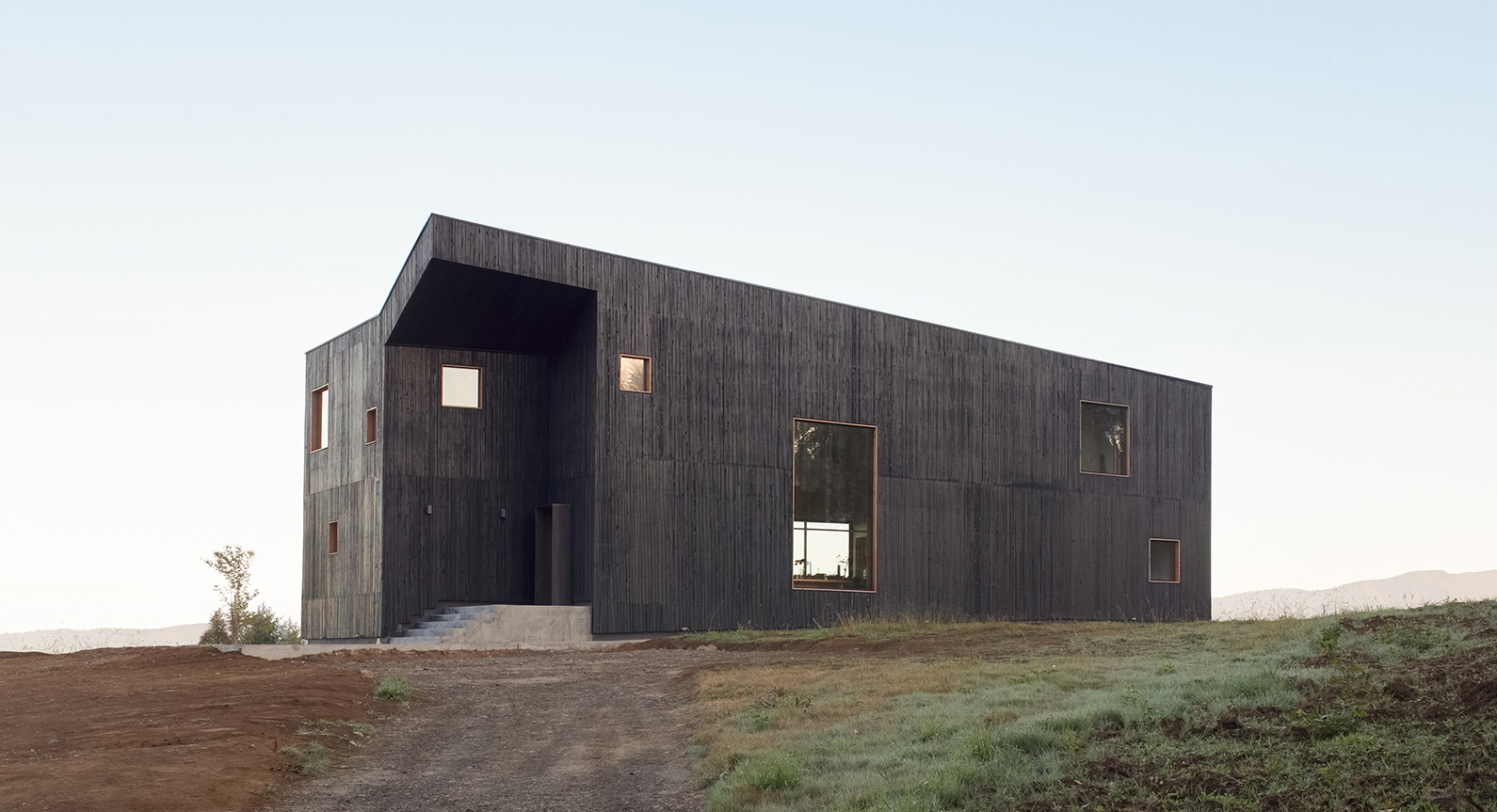 This Chilean Home Is Designed To Mirror Its Volcanic Surroundings