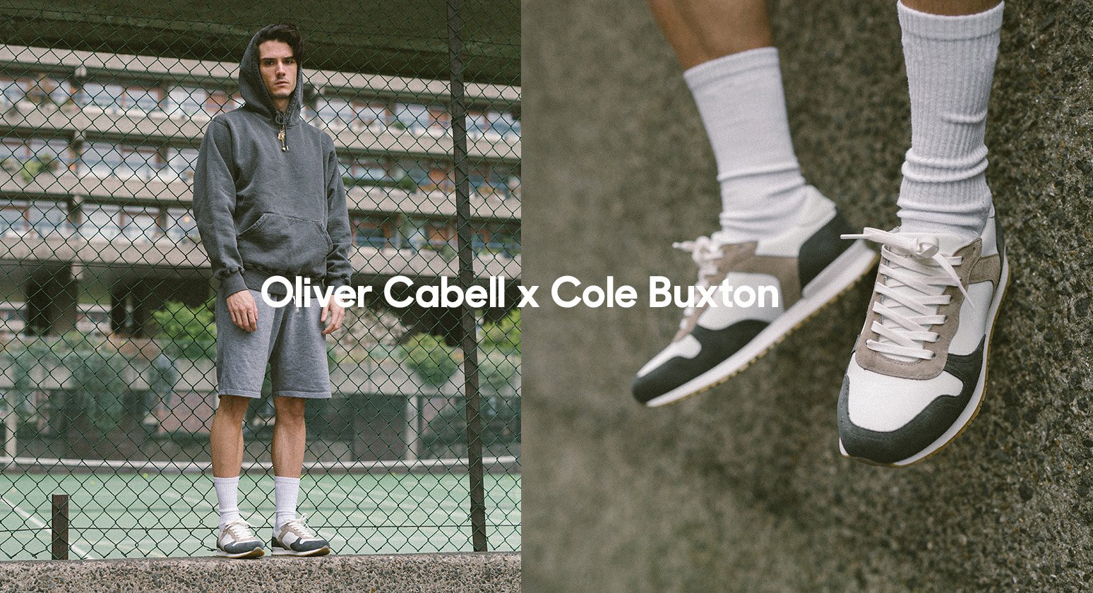 Oliver Cabell x Cole Buxton Team Up For The Limited Edition Rennes Sneaker