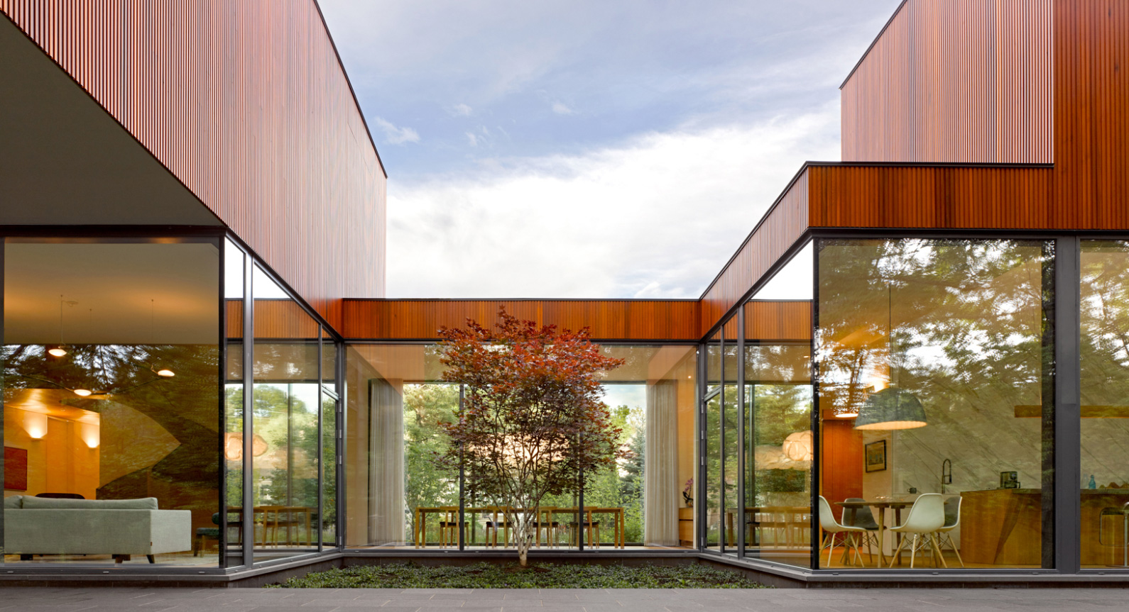 The Ancaster Creek House Rethinks Suburban Living