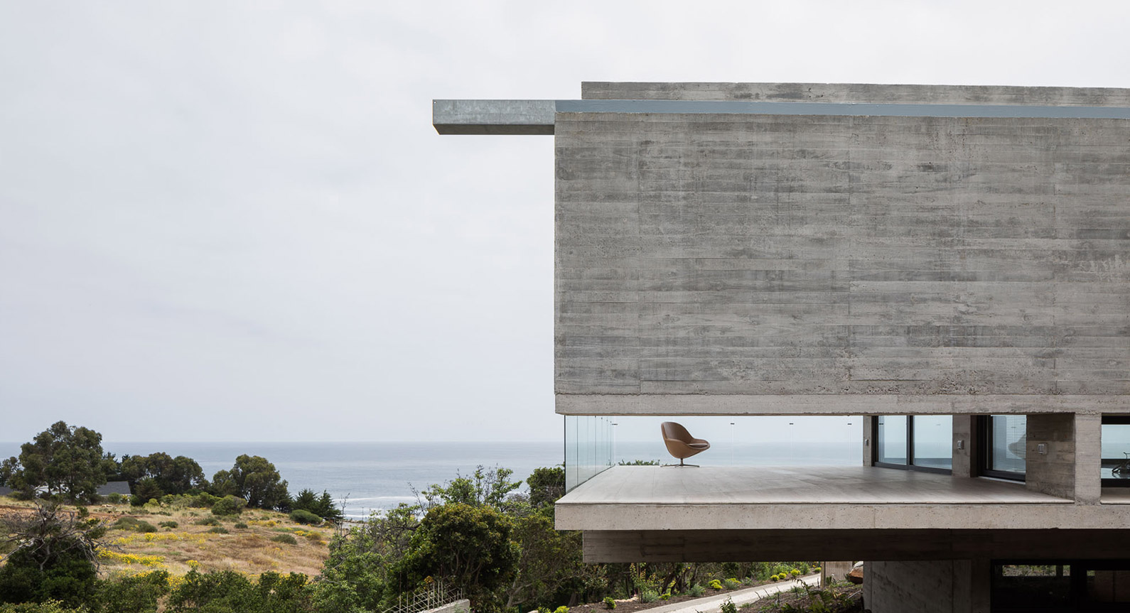 This Seaside Hideaway Is A Brutalist Concrete Masterpiece