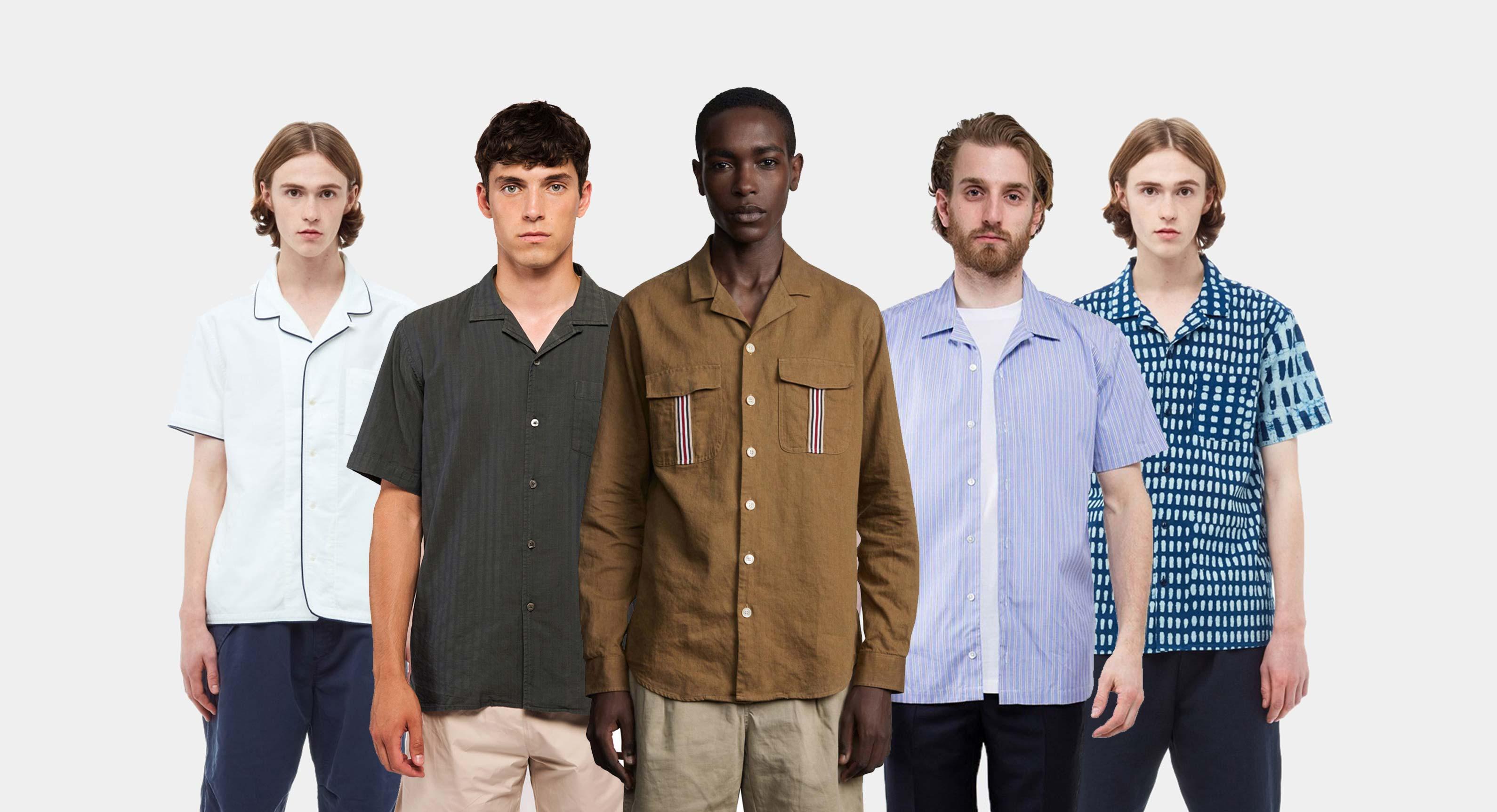 6 Fresh New Cuban Collar Shirts