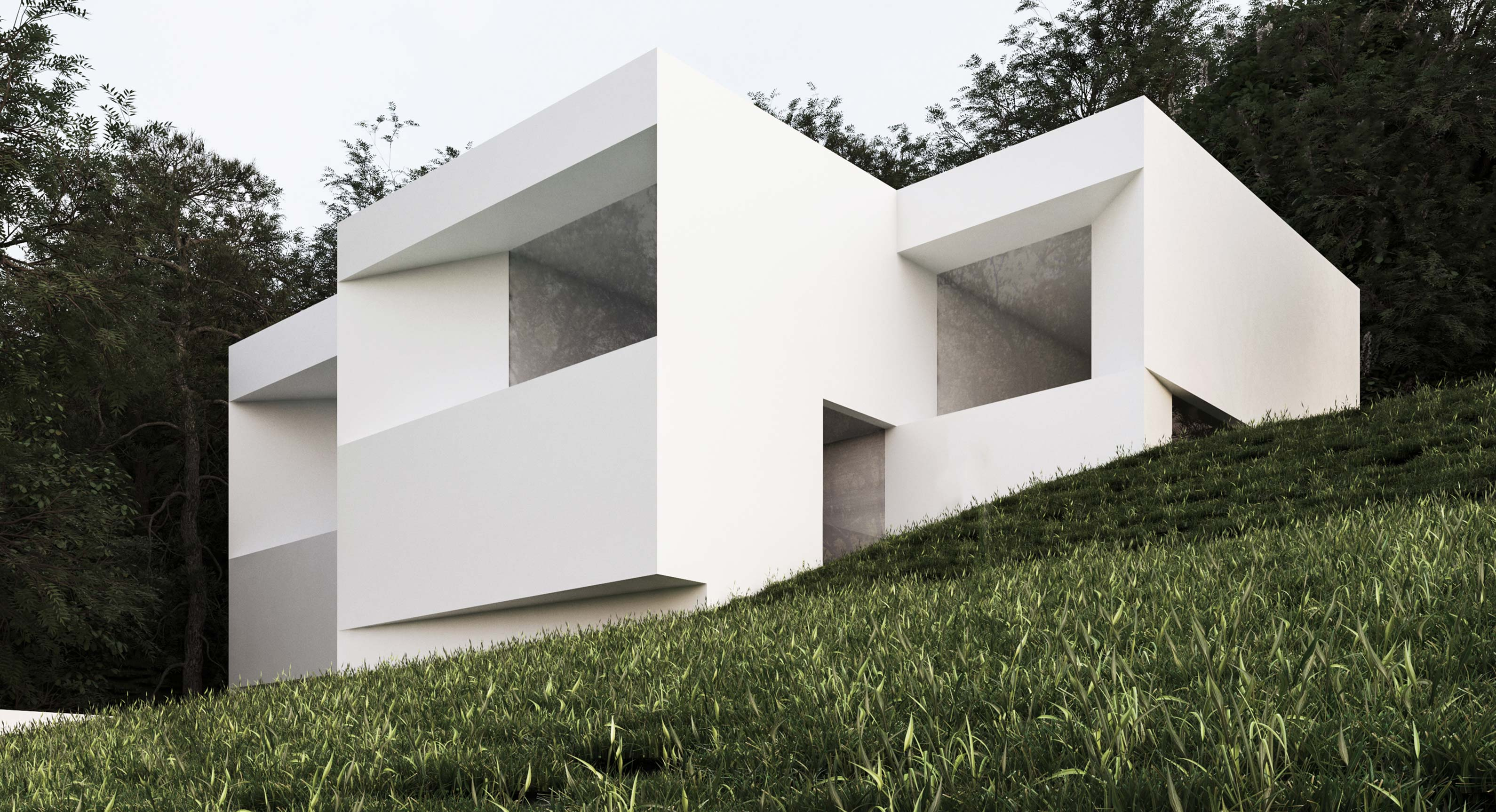 The house between the pines by fran silvestre arquitectos - Fran silvestre arquitectos ...