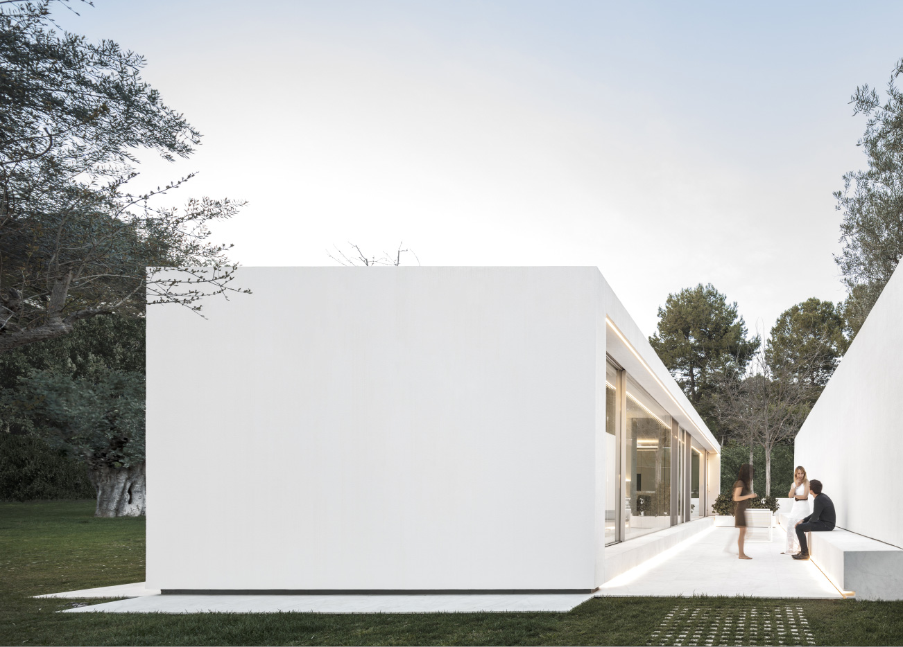 Unearth The Secrets Of Simplicity With This Minimalist Pavilion By