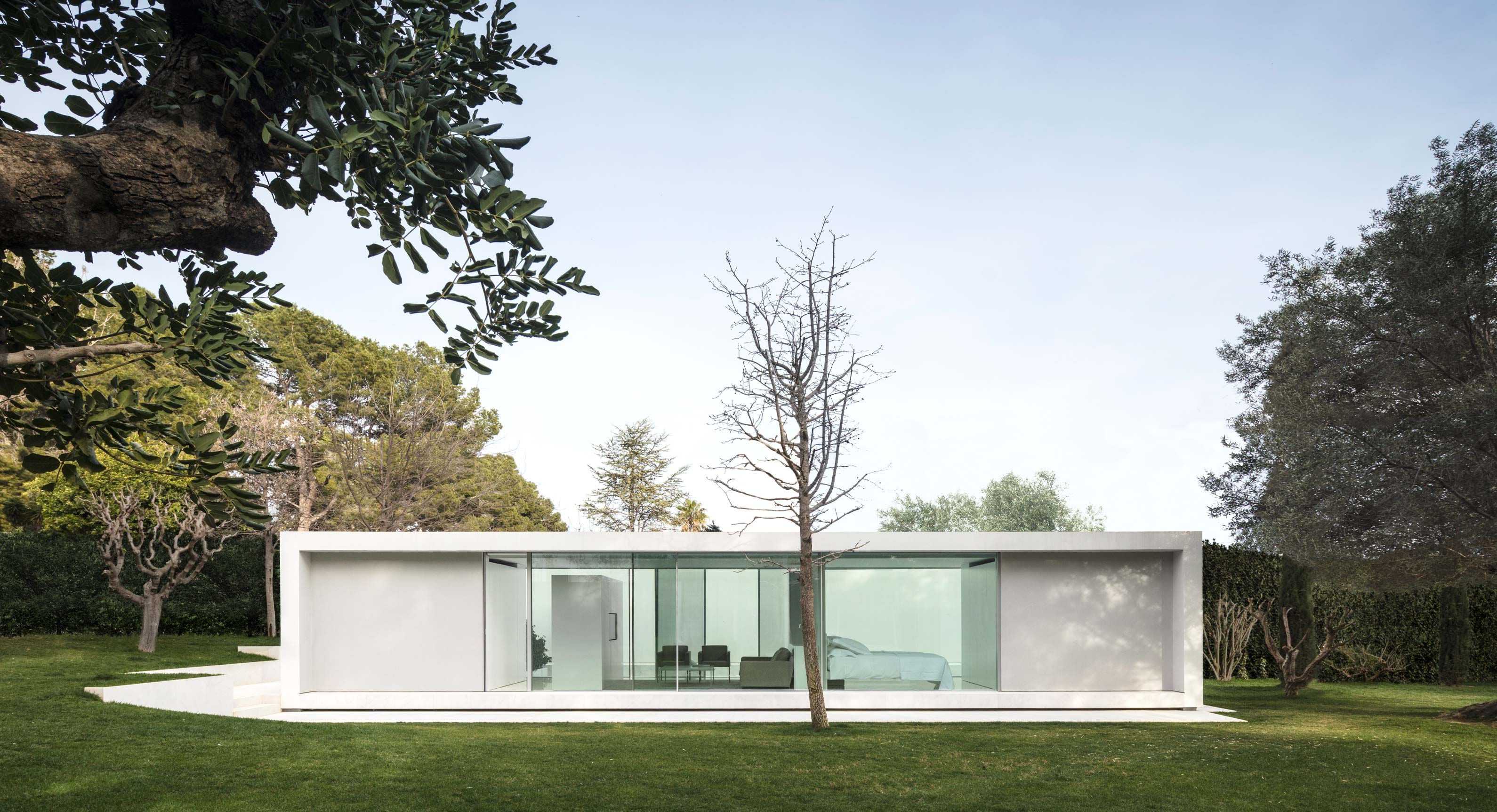 Unearth The Secrets Of Simplicity In This Minimalist Pavilion By Fran  Silvestre Arquitectos