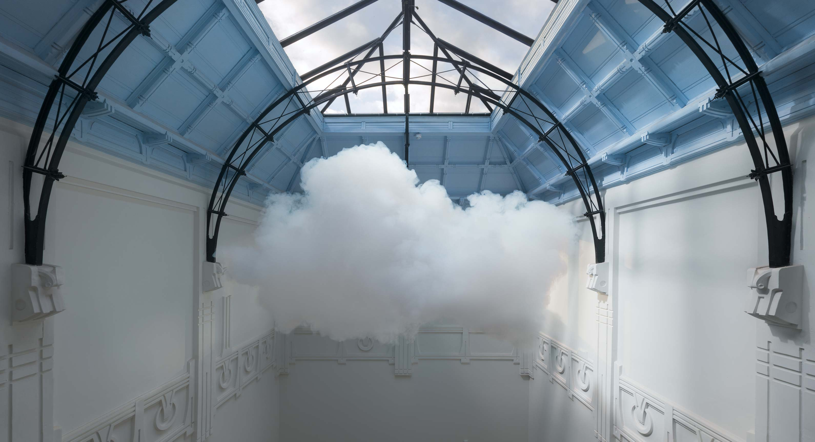How Artist Berndnaut Smilde Makes Indoor Sculptures Out Of Clouds