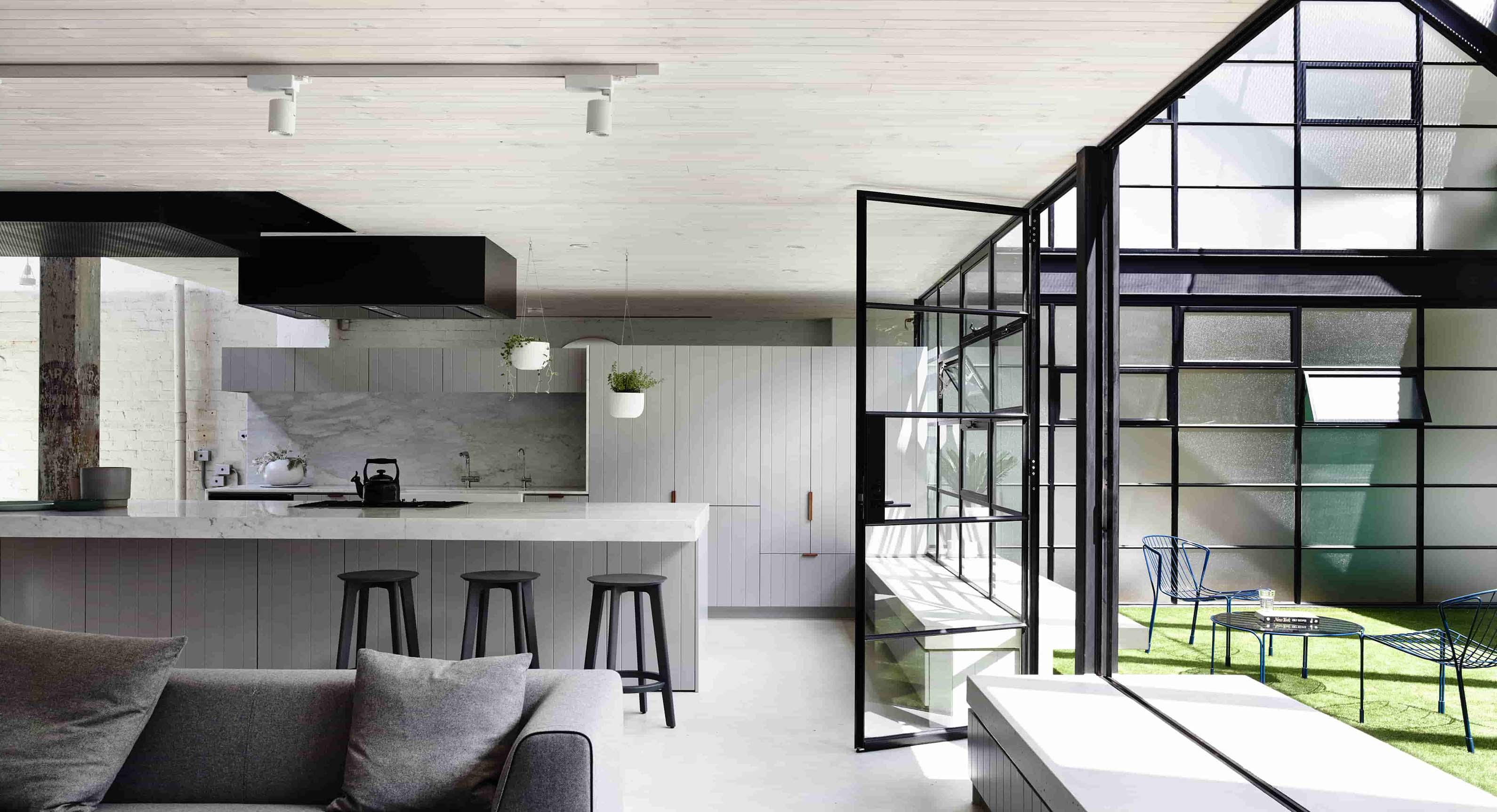 Architects EAT Creates Modernist Chocolate Factory Loft In Fitzroy, Australia