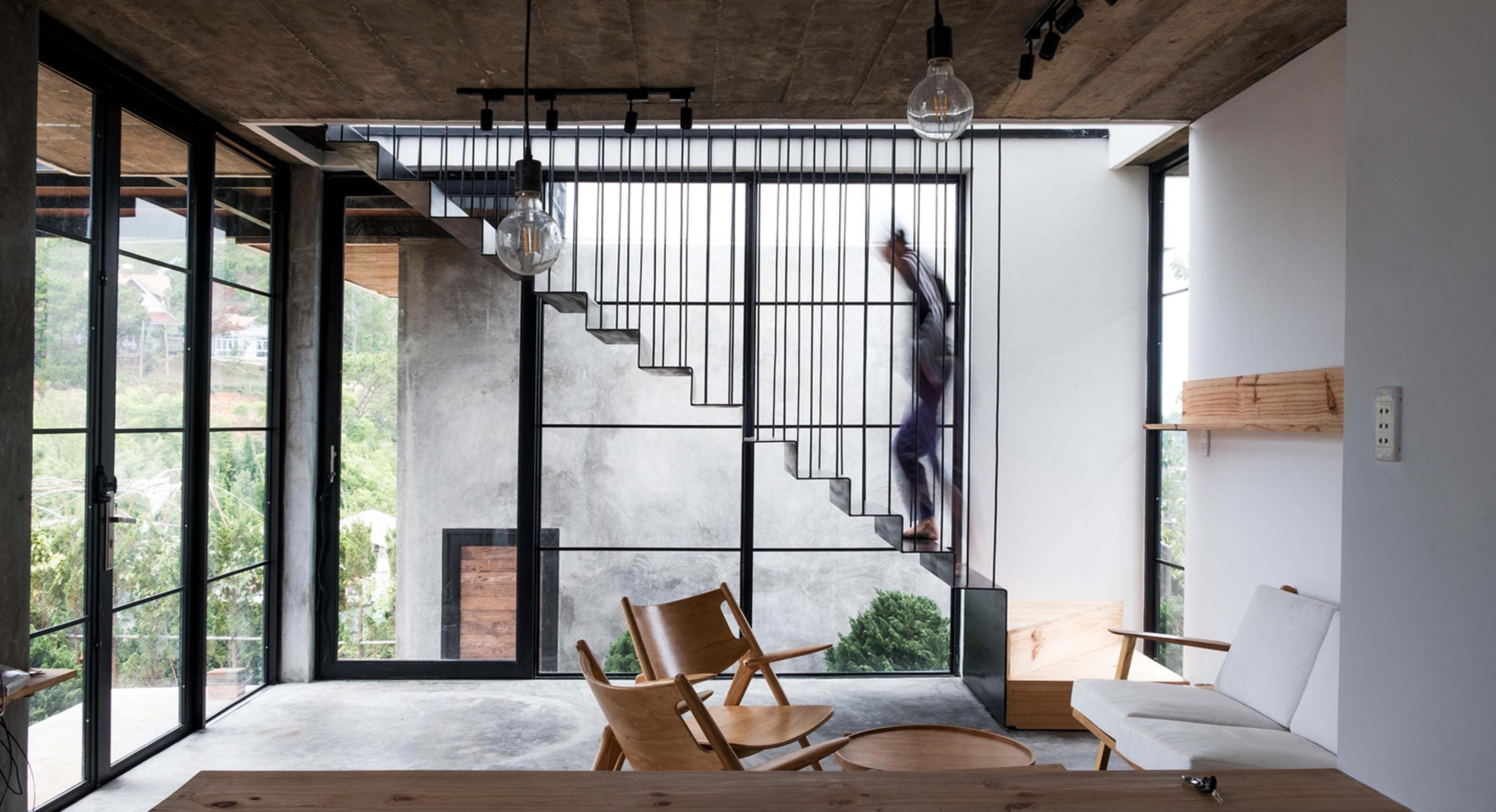 The Modernist Living Space Fit For A Photographer
