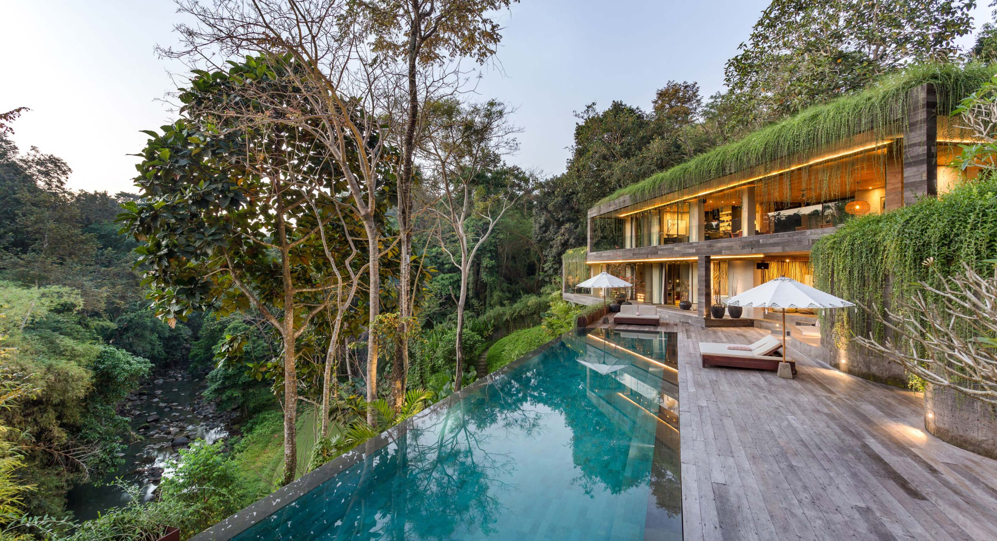 A Mountainside Oasis: The Chameleon Villa In Bali