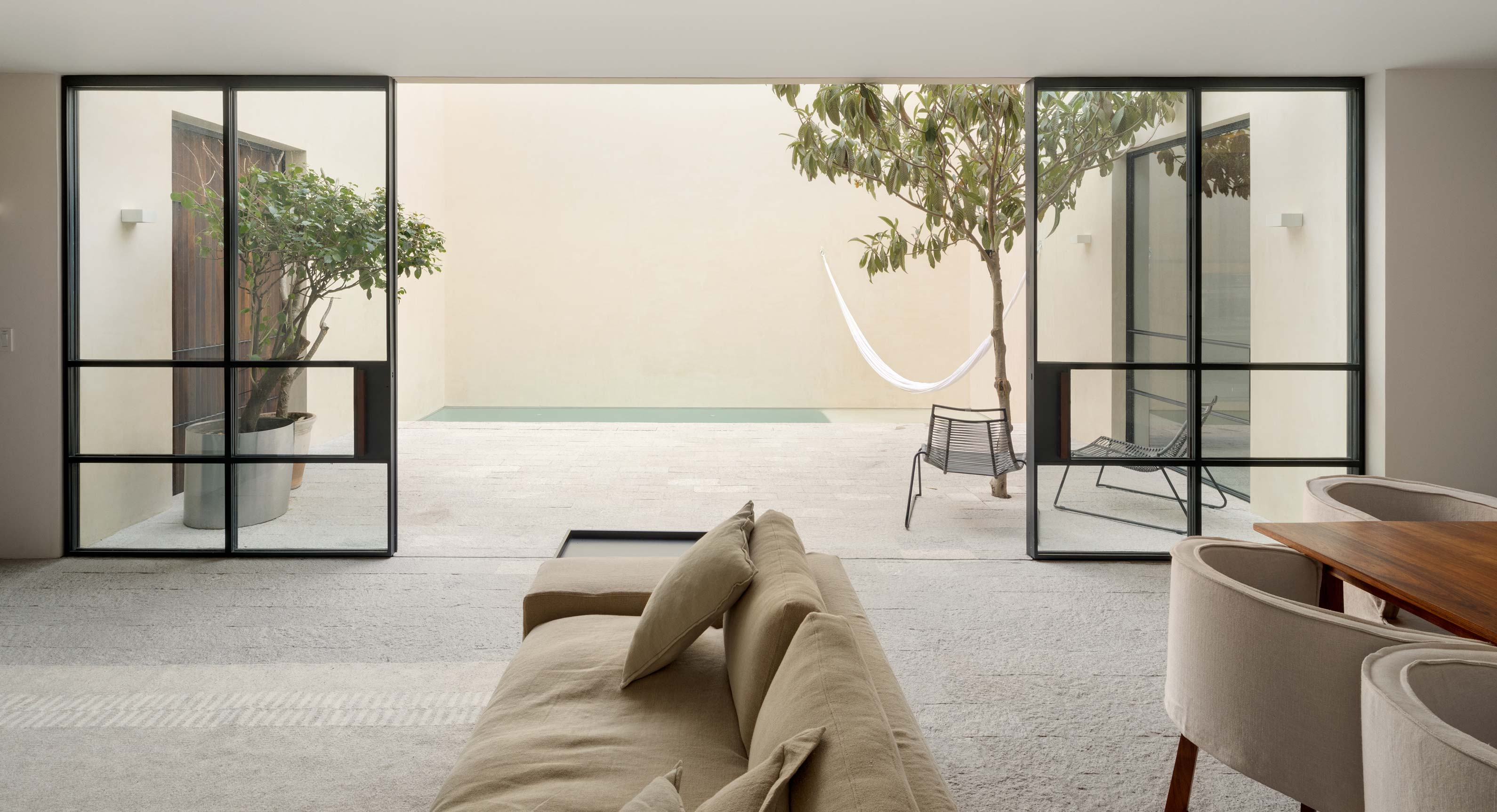 Casa La Quinta: A Mexican Weekend House Designed Around Different Voids