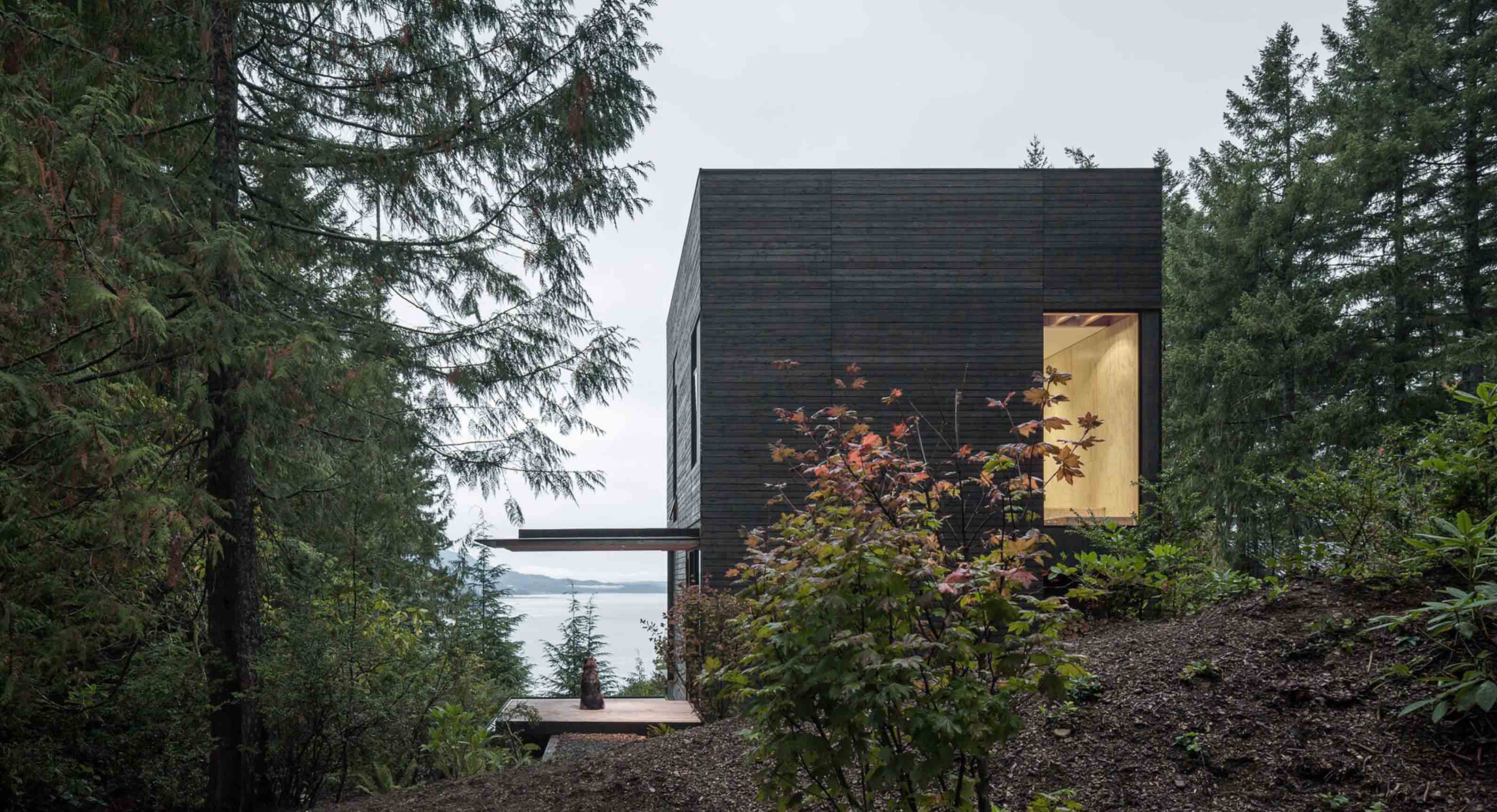 mw|works architecture+design Turn The Little House Into Spectacular Secret Getaway