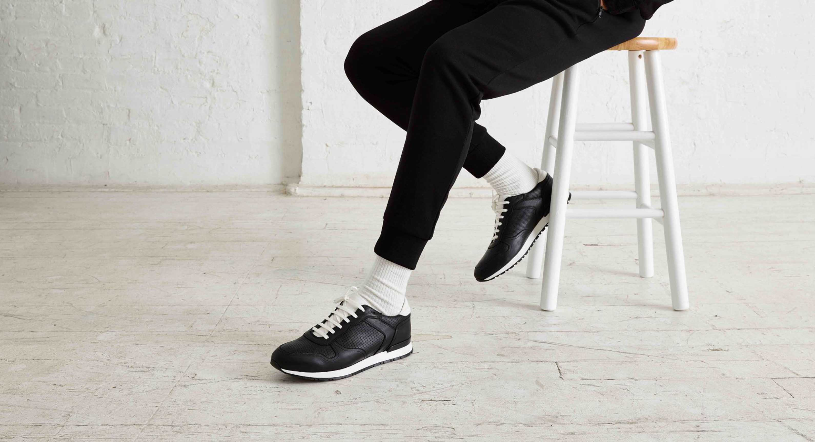 Oliver Cabell Black Erving Sneakers