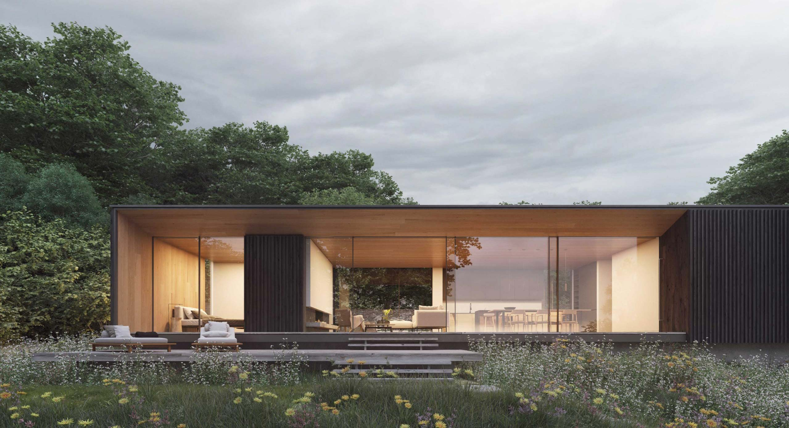 Ström Architects Unveils Plans For Seaside Retreat on Isle of Wight Creek