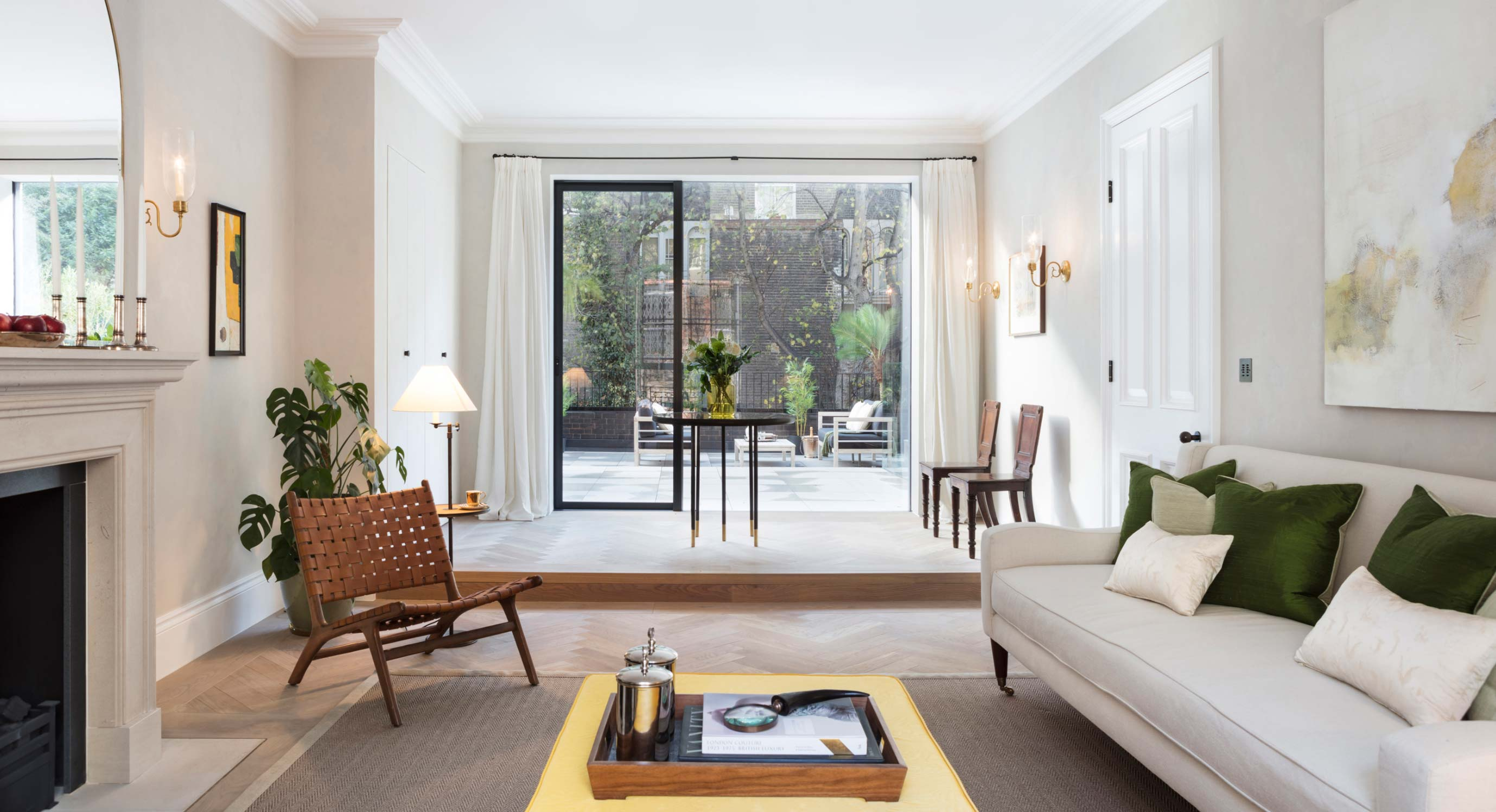 A Sanctuary In The City: The Leverton House, Notting Hill, by Echlin