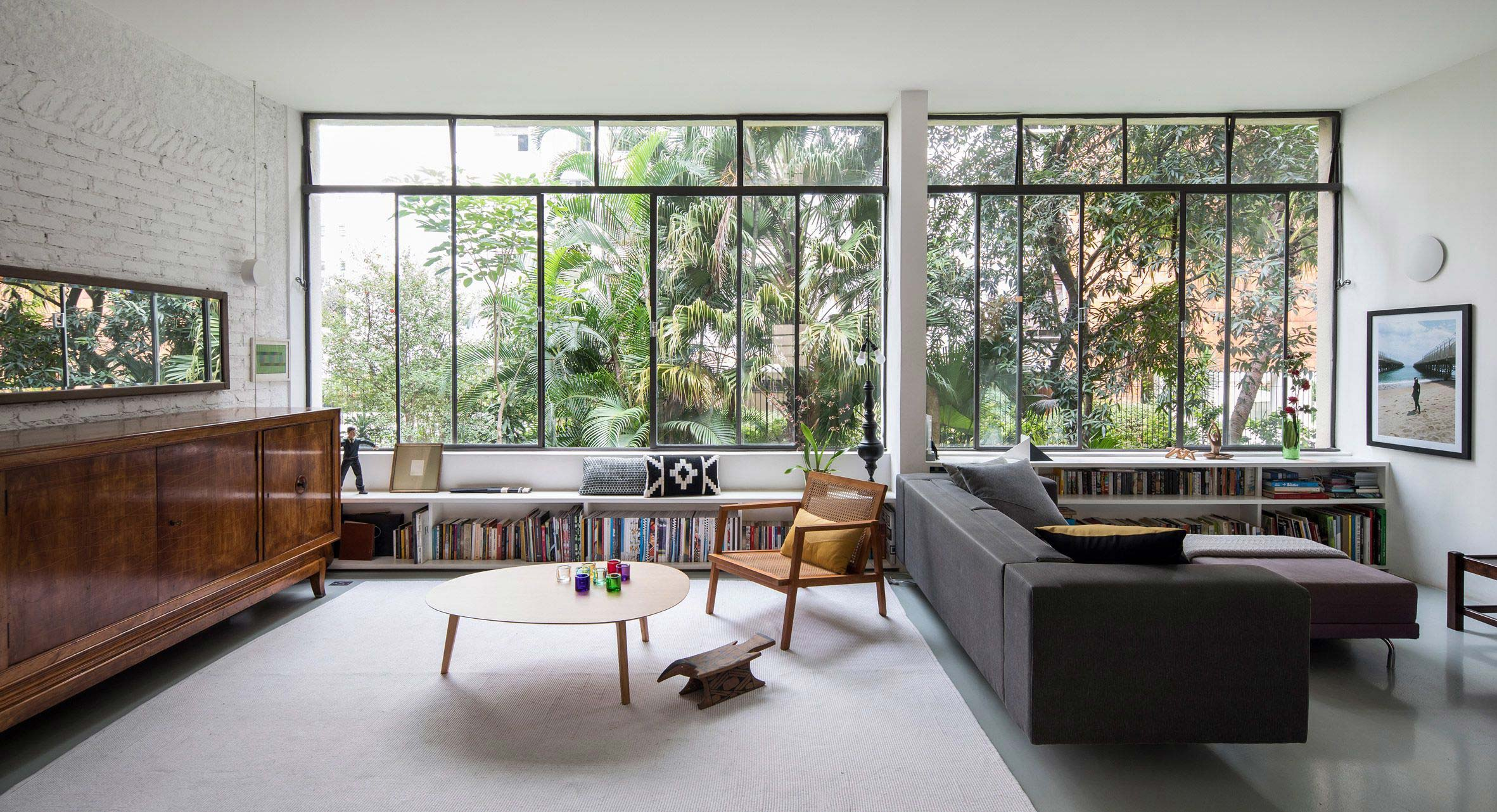 Take A Look Inside This Meticulous 1950s Sao Paulo Apartment Renovation