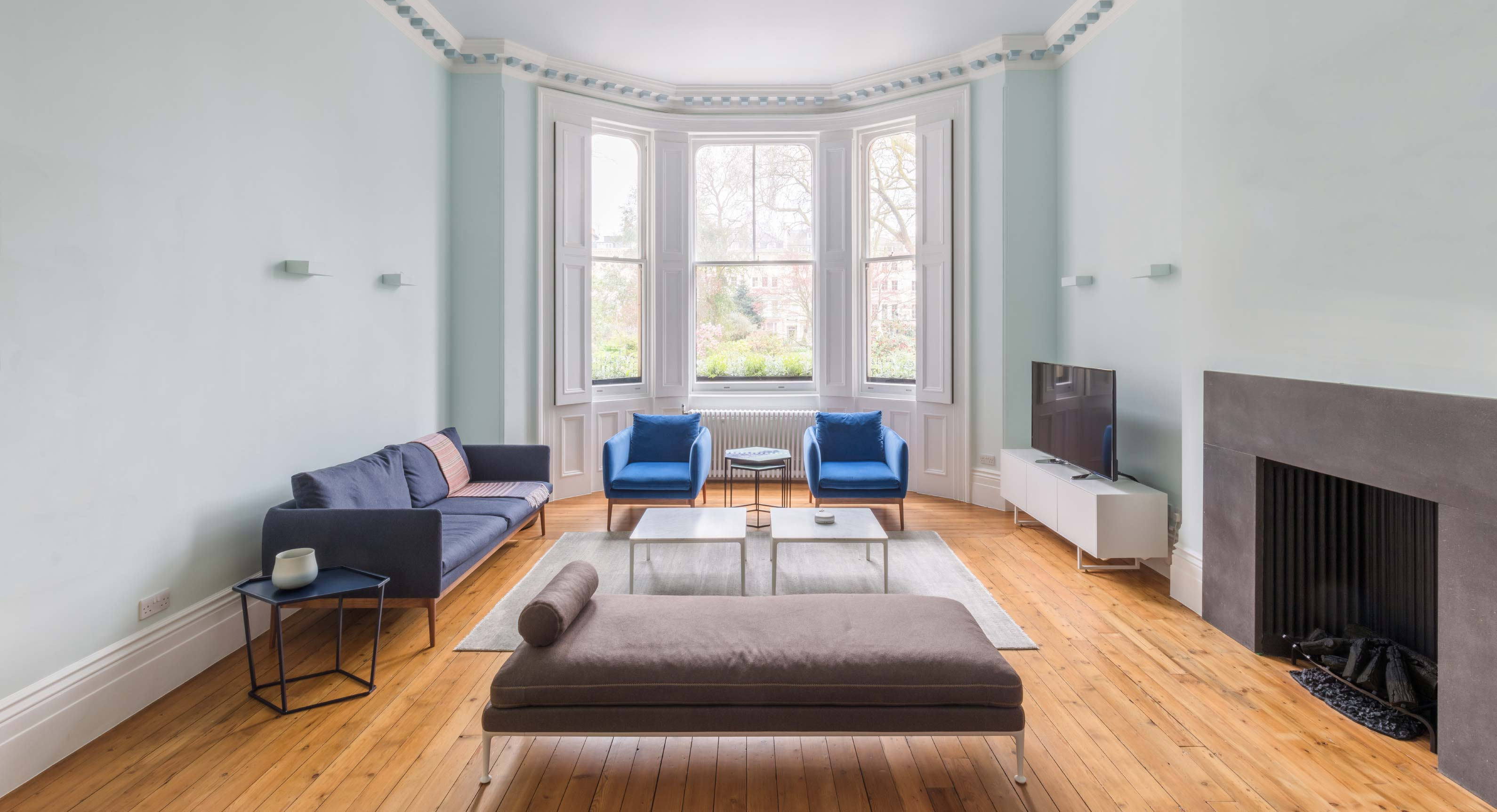 Lydia Xynogala Gives This Victorian London House A Full Minimalist Makeover