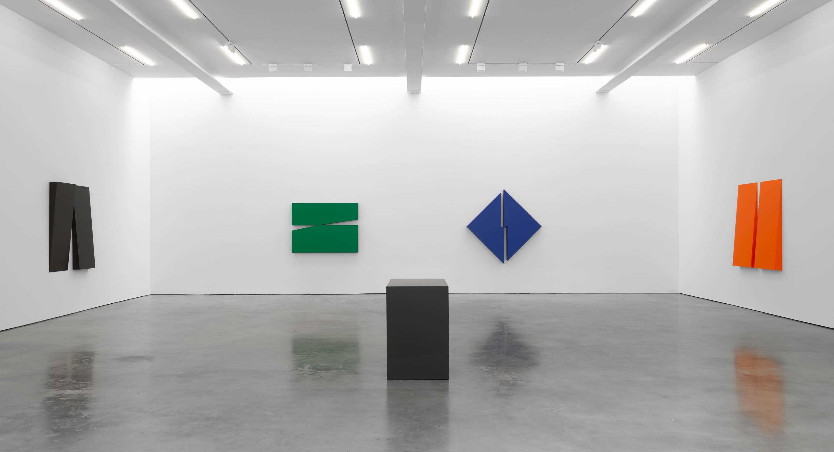 The Remarkable Work Of 103-Year-Old Carmen Herrera Lights Up The Lisson Gallery