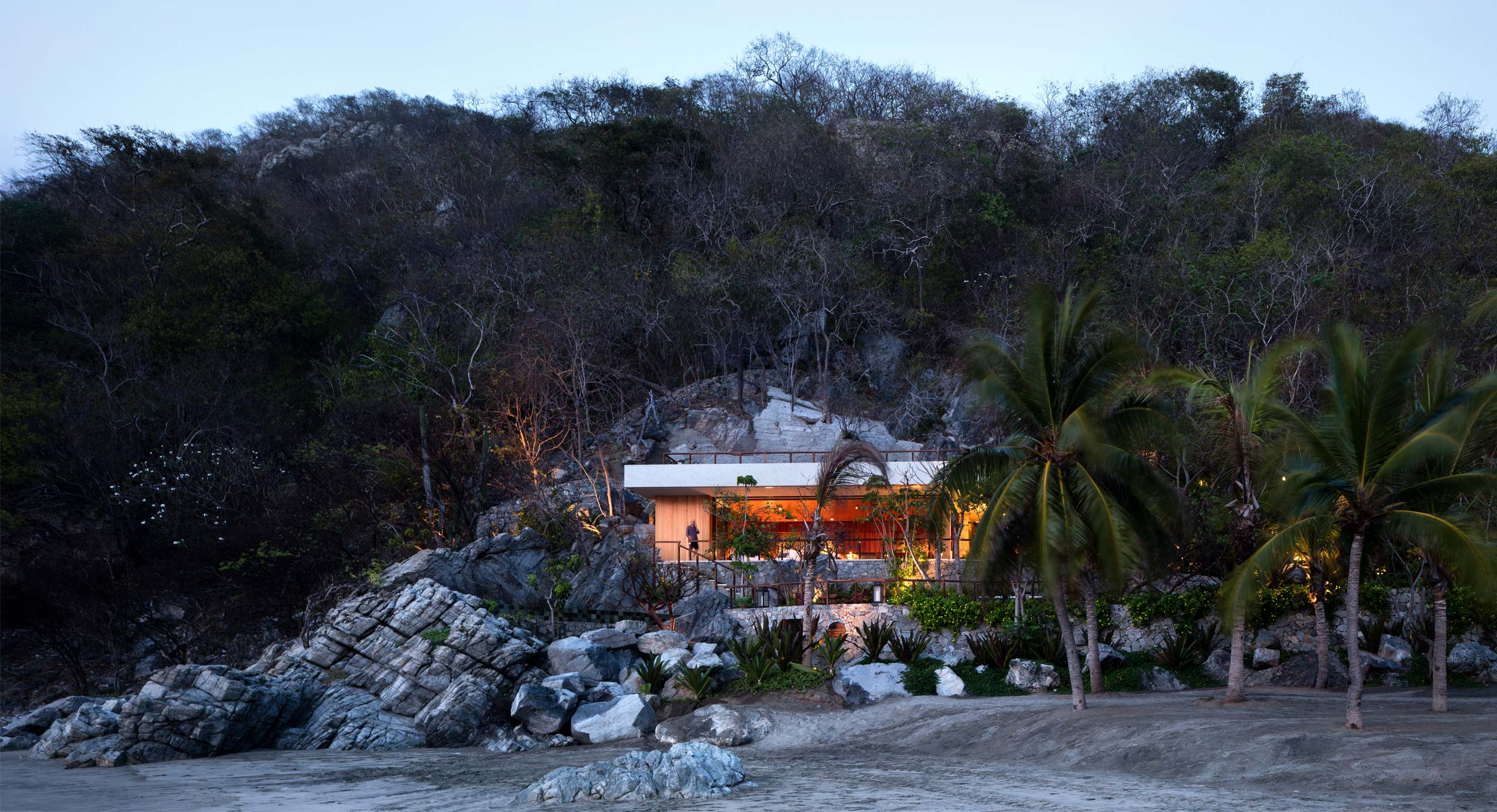 CDM Carves A Modernist Cave Into A Rocky Mexican Hillside