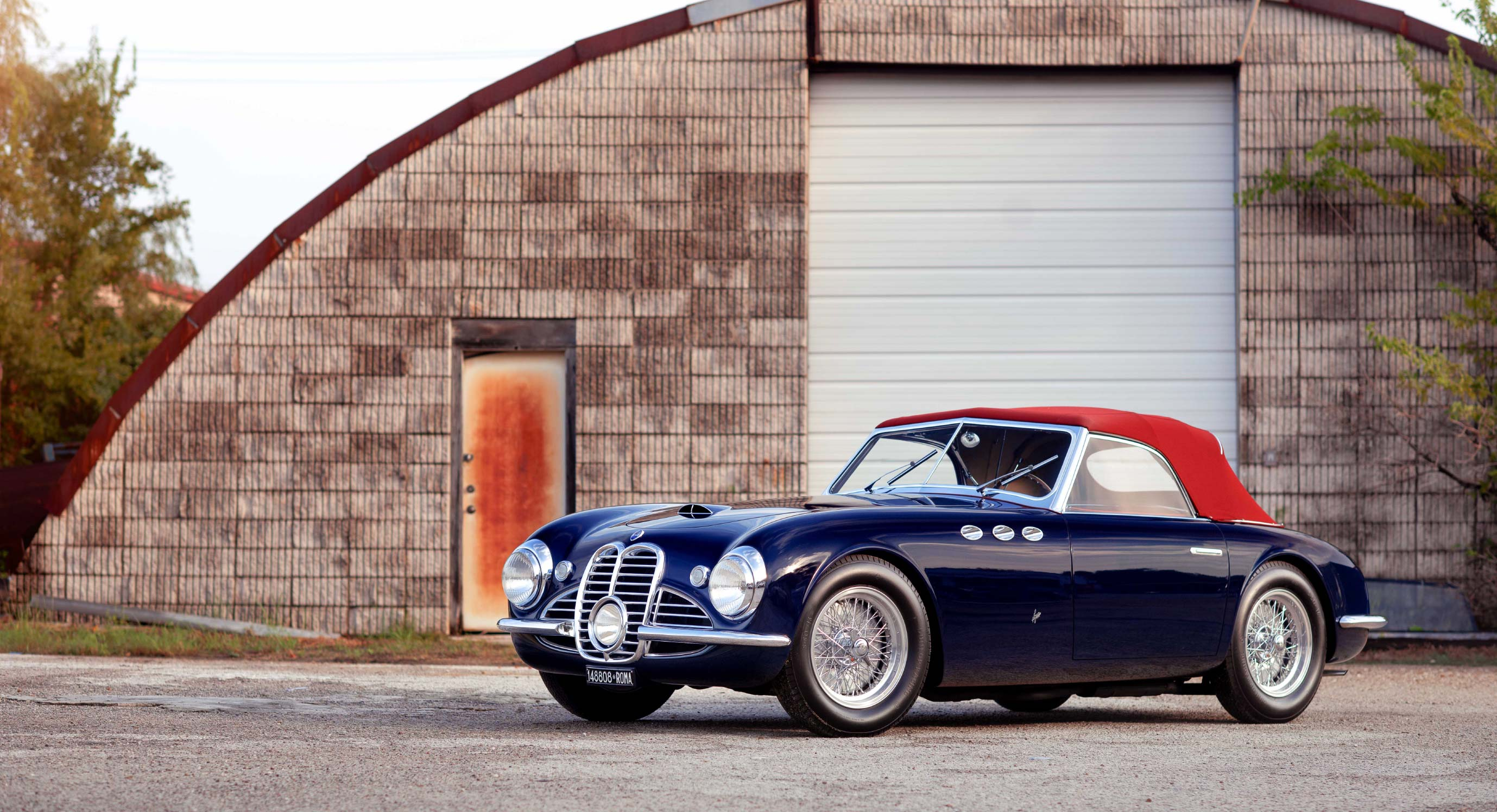 Classic Car Find of the Week: 1952 Maserati A6G/2000 Spider