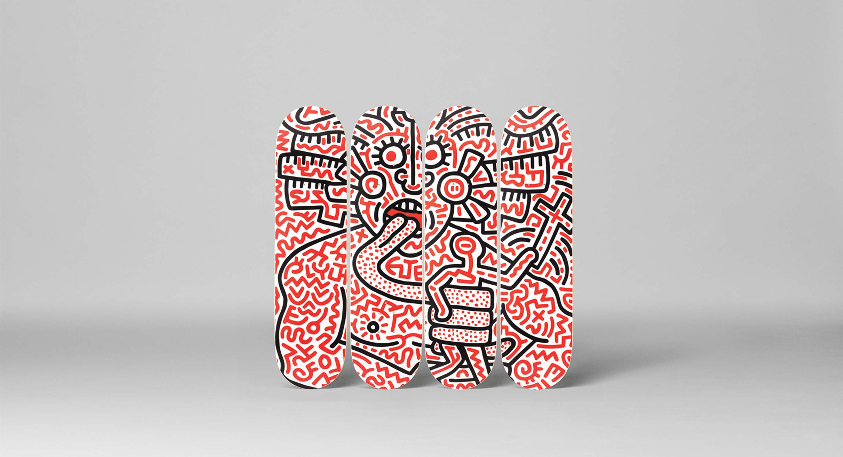 The Skateroom Releases Iconic Keith Haring Collaboration