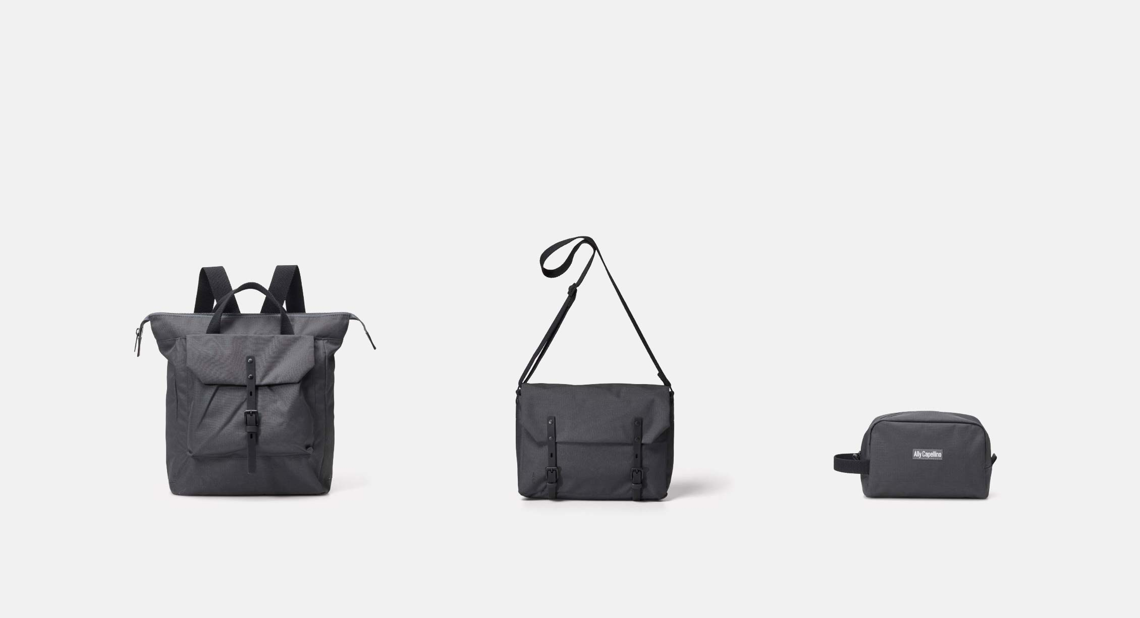 The Best Ally Capellino Bags For The Man on the Move