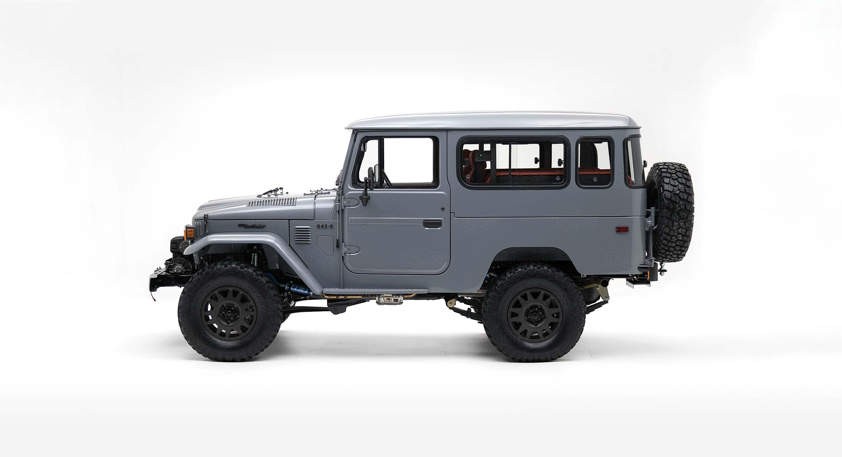 A Custom Toyota Land Cruiser To Take You Anywhere