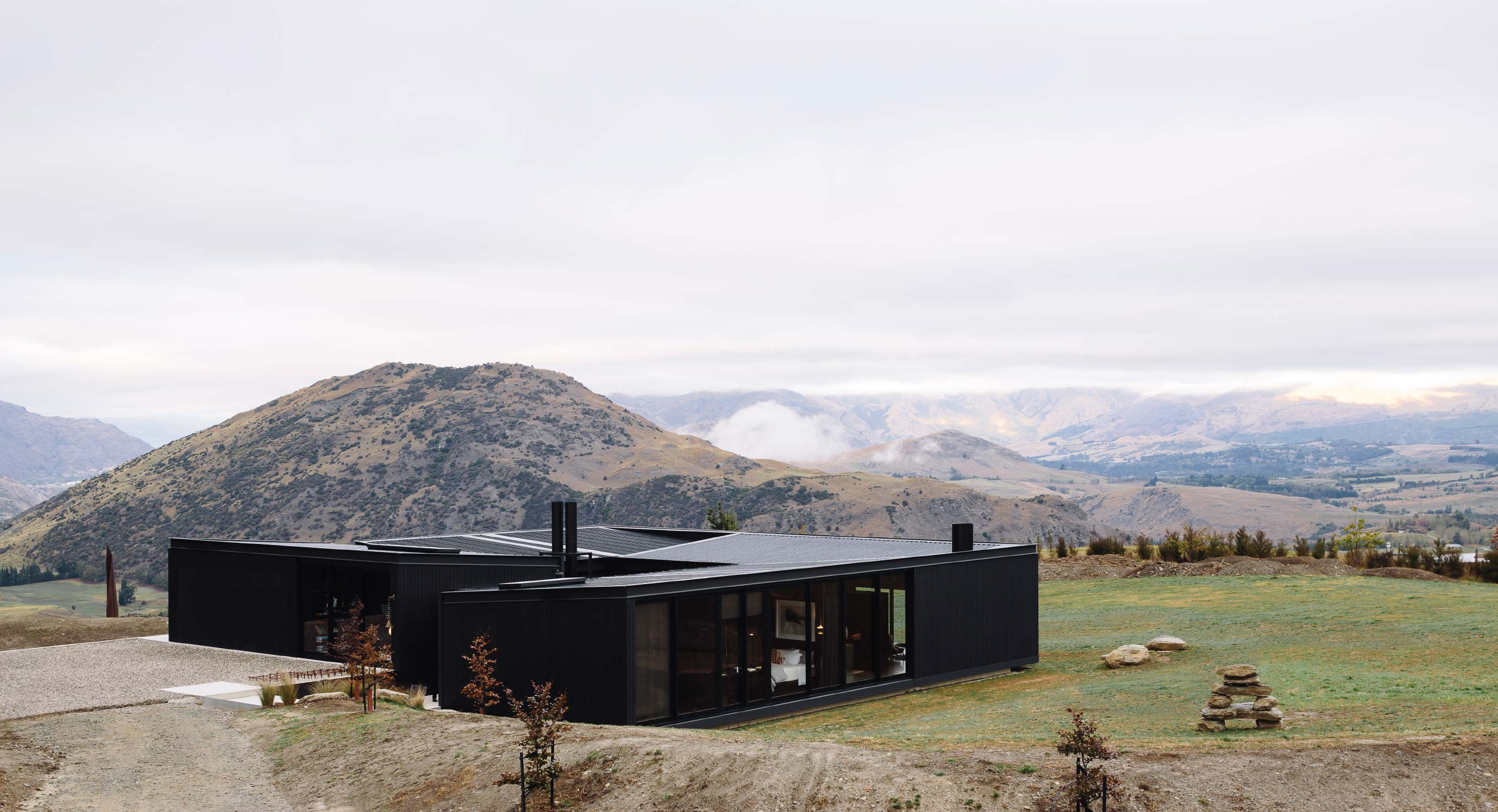 Fearon Architects' Alpine Terrace House Is A High Mountain Haven
