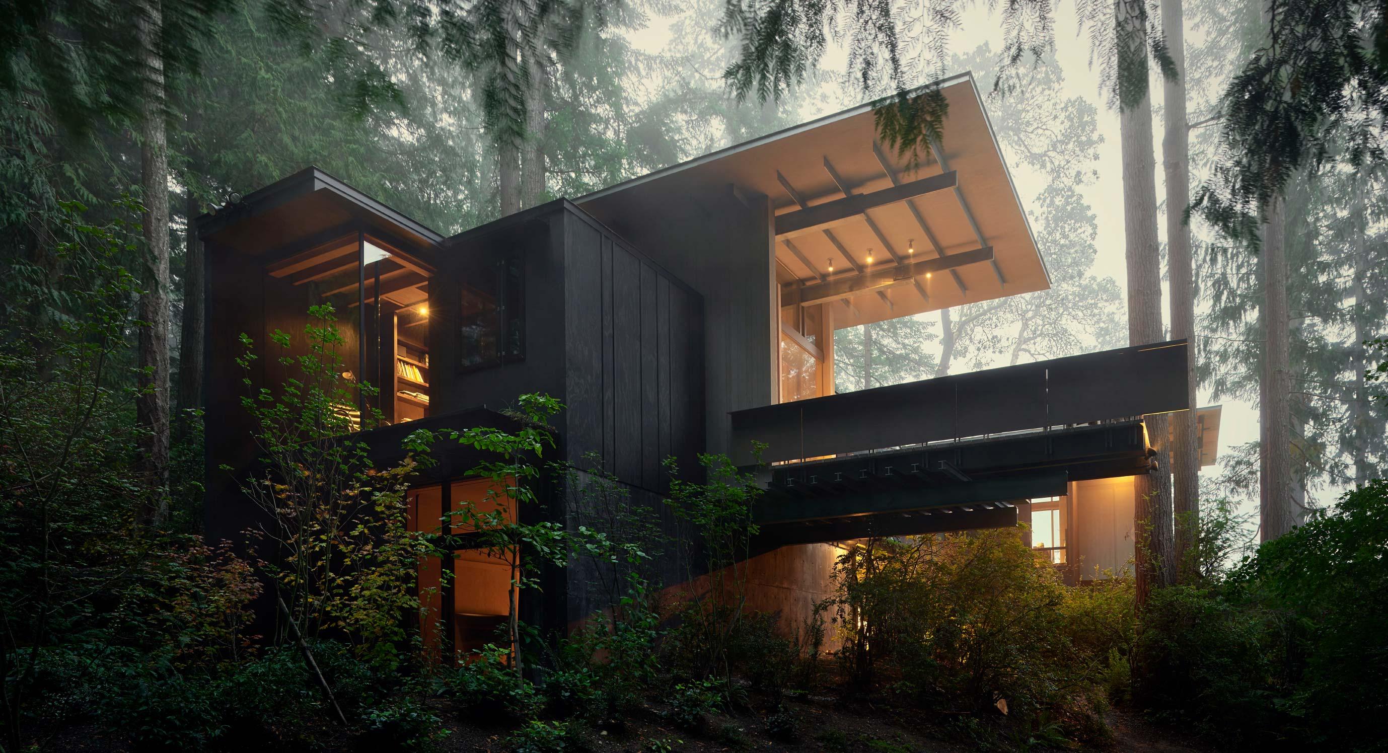 Inside Jim Olson's Incredible Personal Woodland Retreat